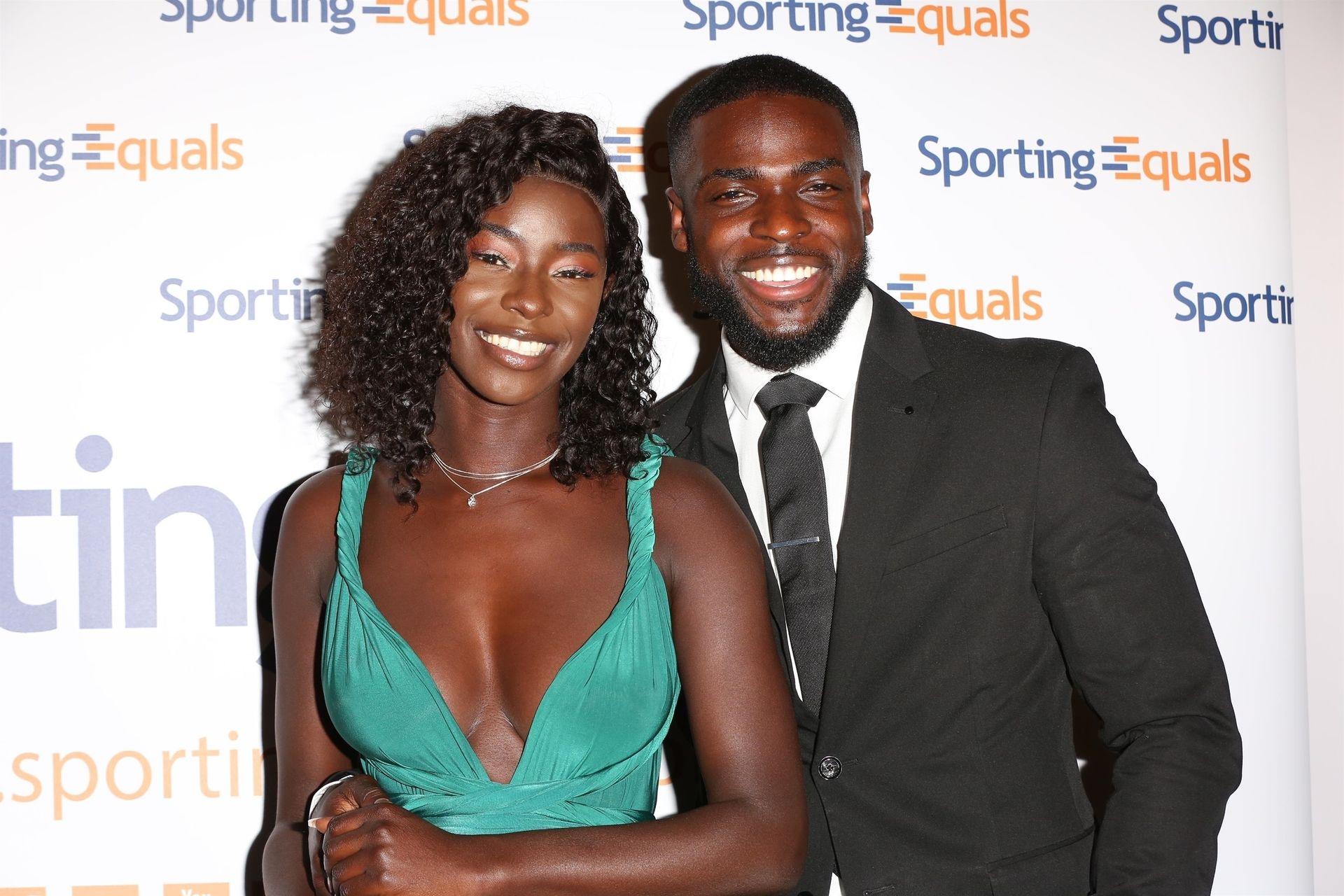 Mike Boateng & Priscilla Anyabu Are Seen At British Ethnic Diversity Sports Awards 0115