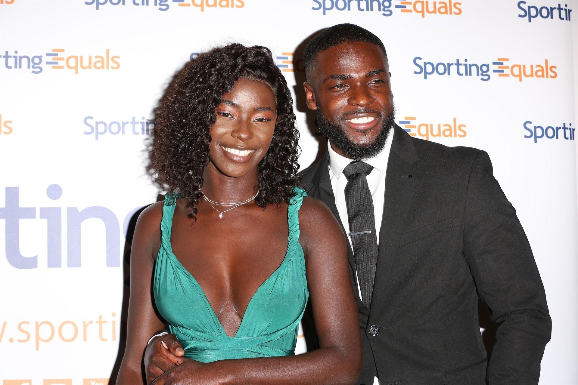 Mike Boateng & Priscilla Anyabu Are Seen At British Ethnic Diversity Sports Awards 0117