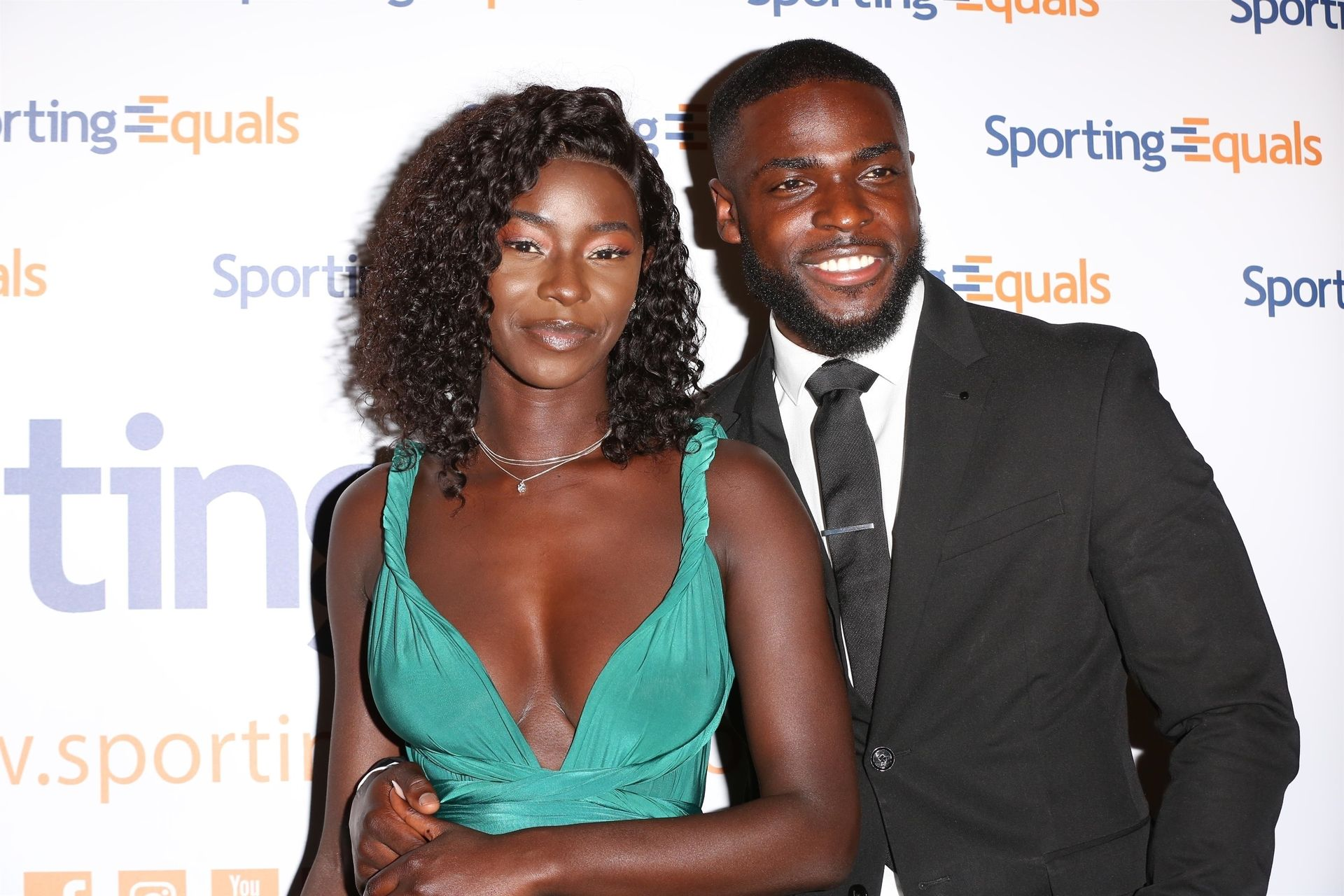 Mike Boateng & Priscilla Anyabu Are Seen At British Ethnic Diversity Sports Awards 0118