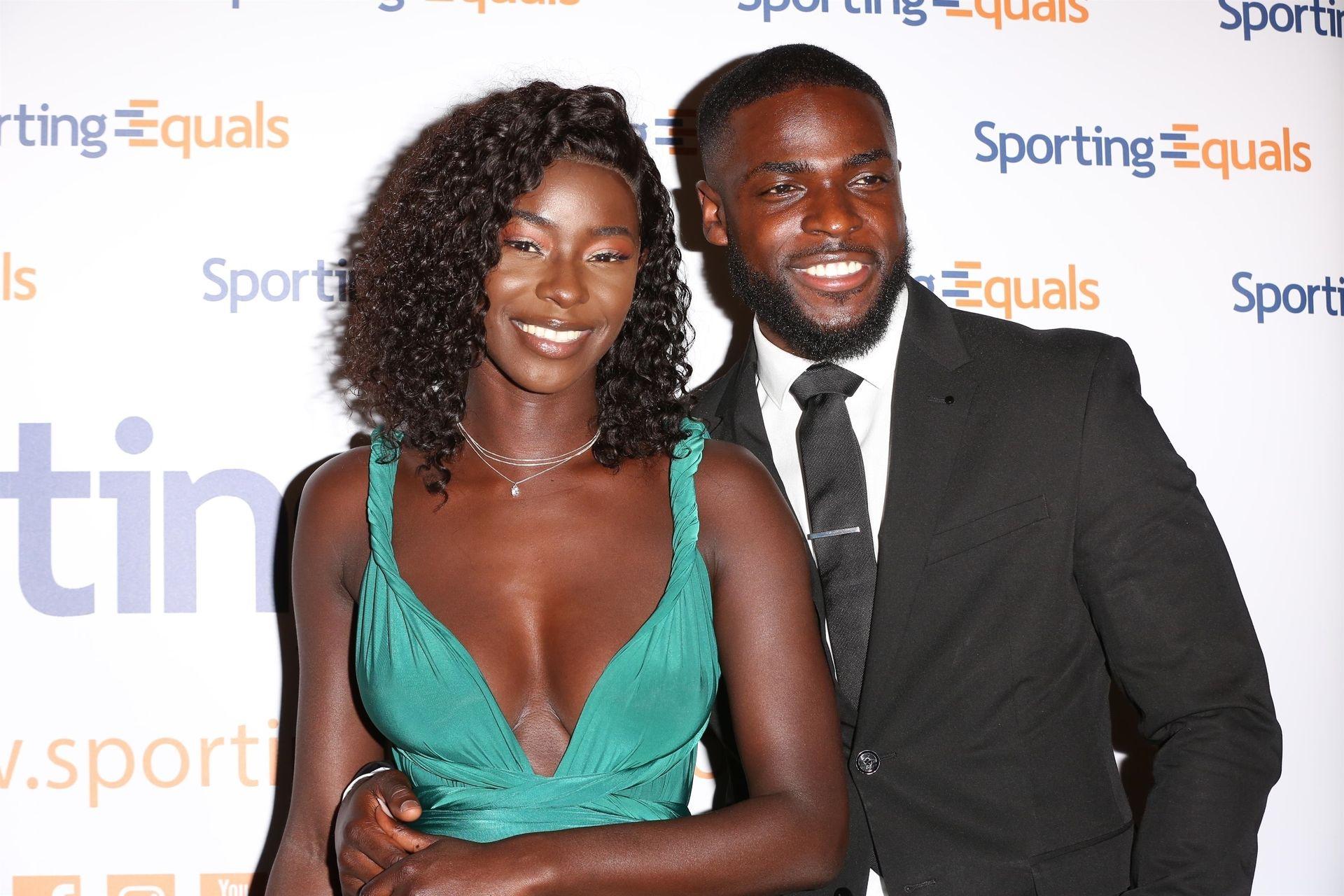 Mike Boateng & Priscilla Anyabu Are Seen At British Ethnic Diversity Sports Awards 0119