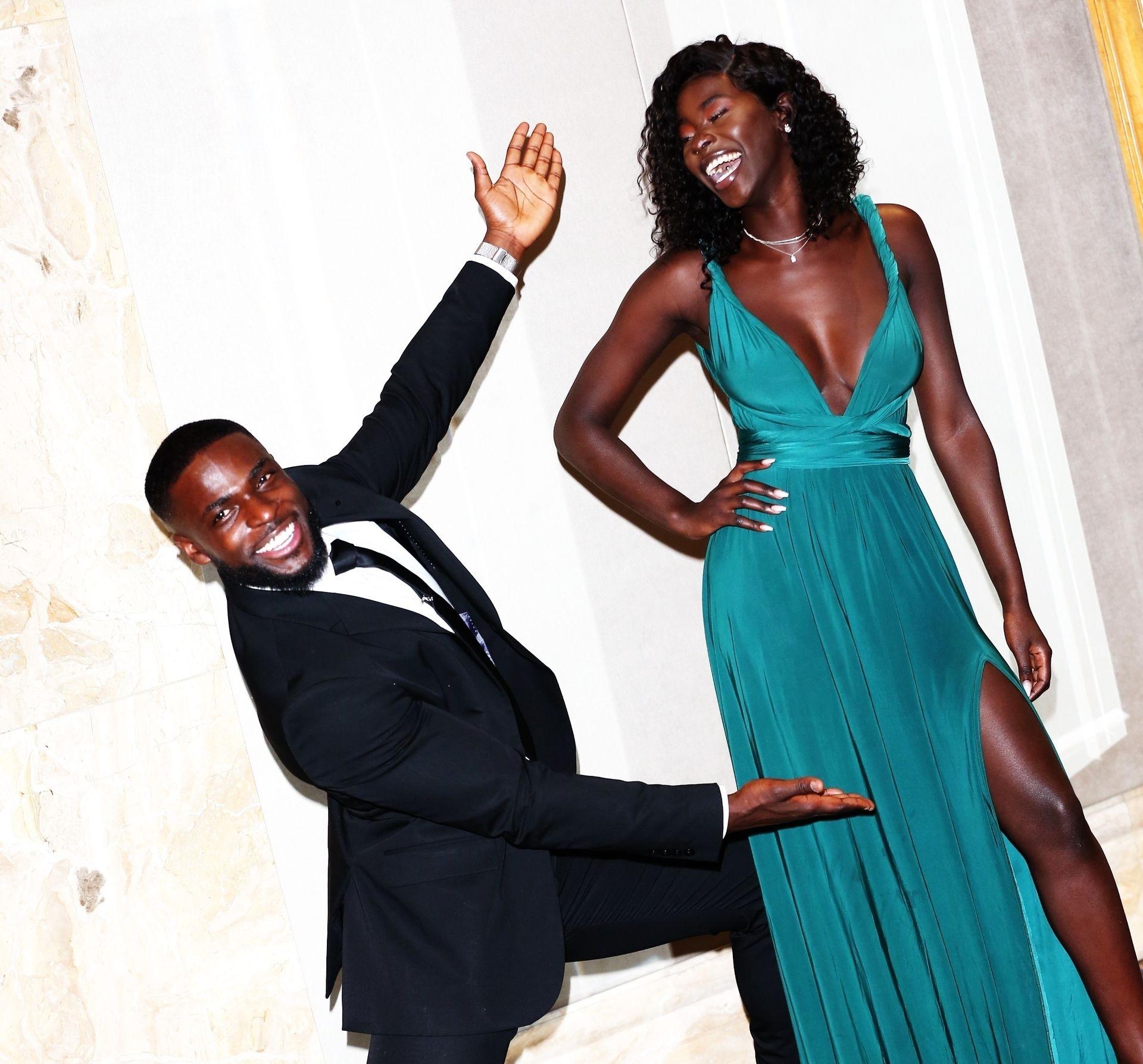 Mike Boateng & Priscilla Anyabu Are Seen At British Ethnic Diversity Sports Awards 0120