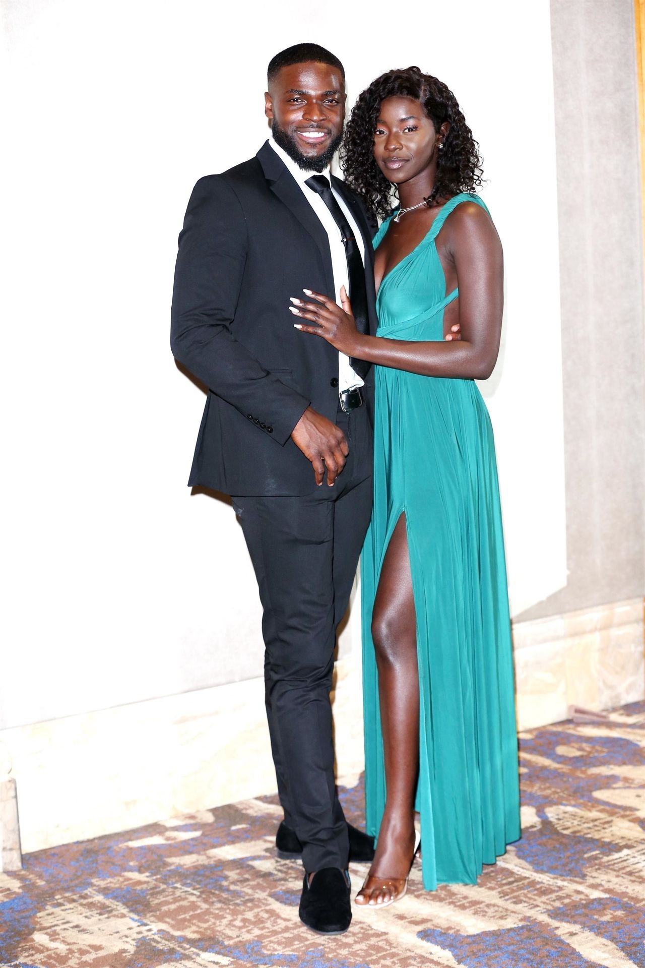 Mike Boateng & Priscilla Anyabu Are Seen At British Ethnic Diversity Sports Awards 0123