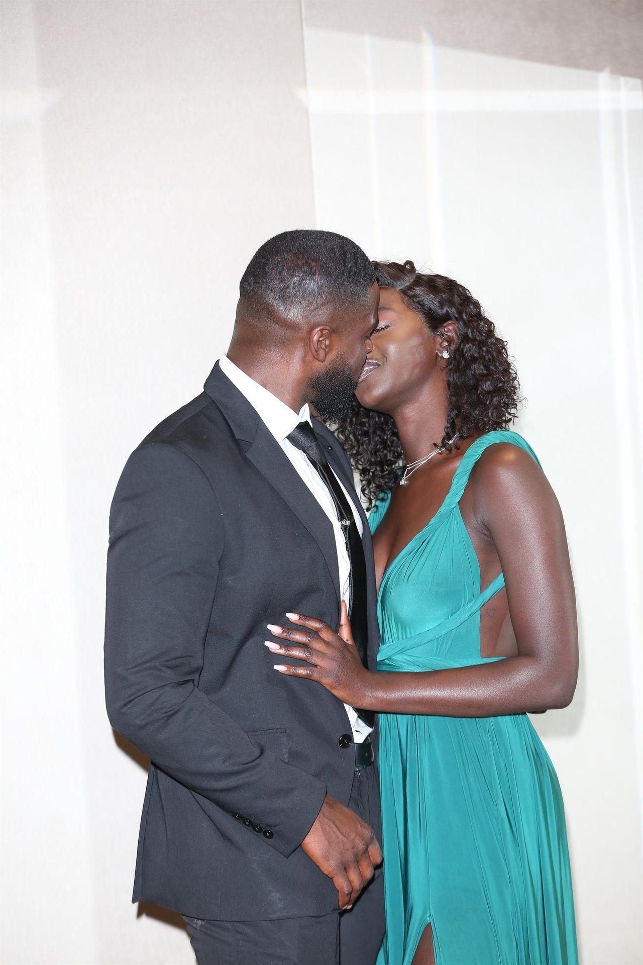 Mike Boateng & Priscilla Anyabu Are Seen At British Ethnic Diversity Sports Awards 0125