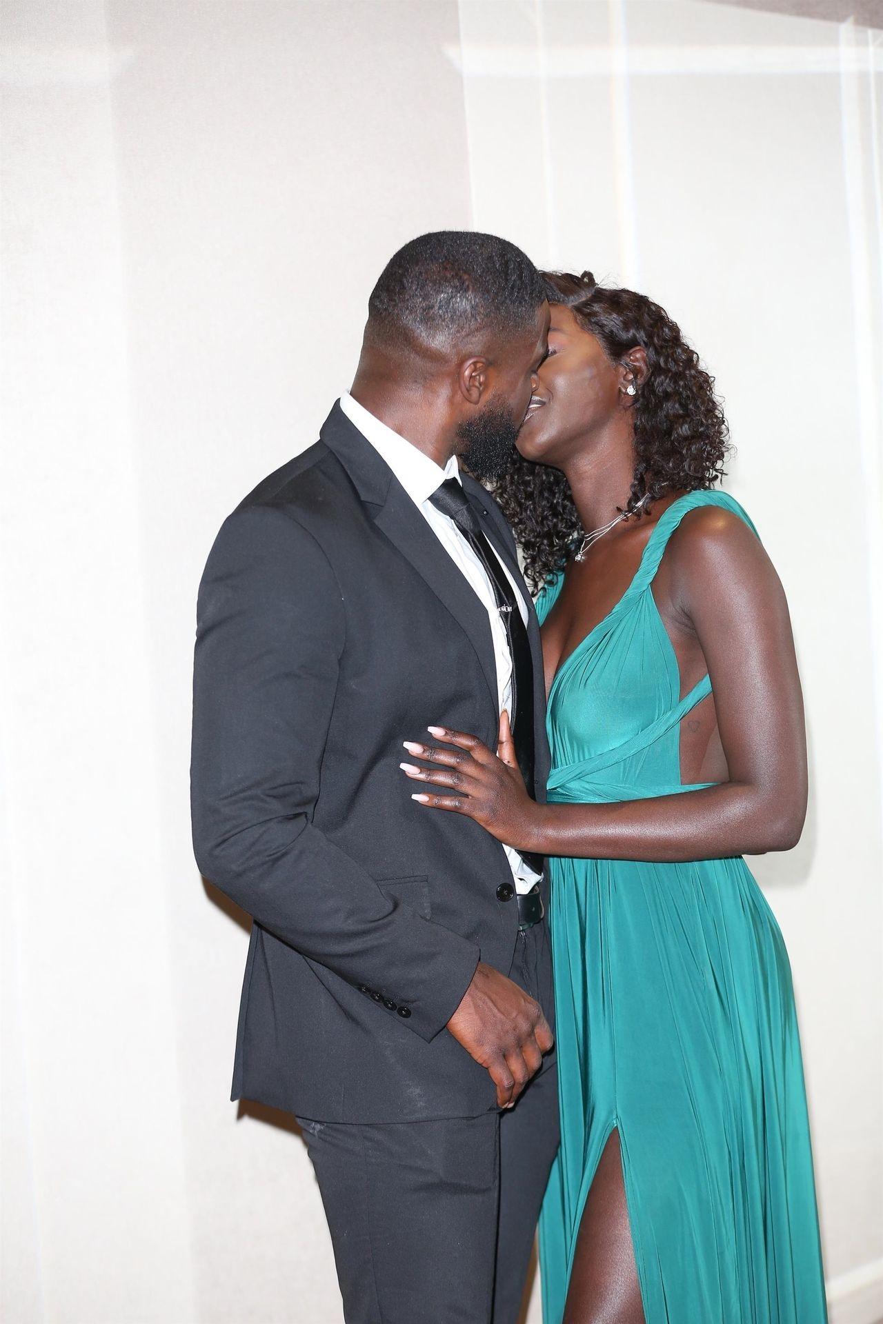 Mike Boateng & Priscilla Anyabu Are Seen At British Ethnic Diversity Sports Awards 0127