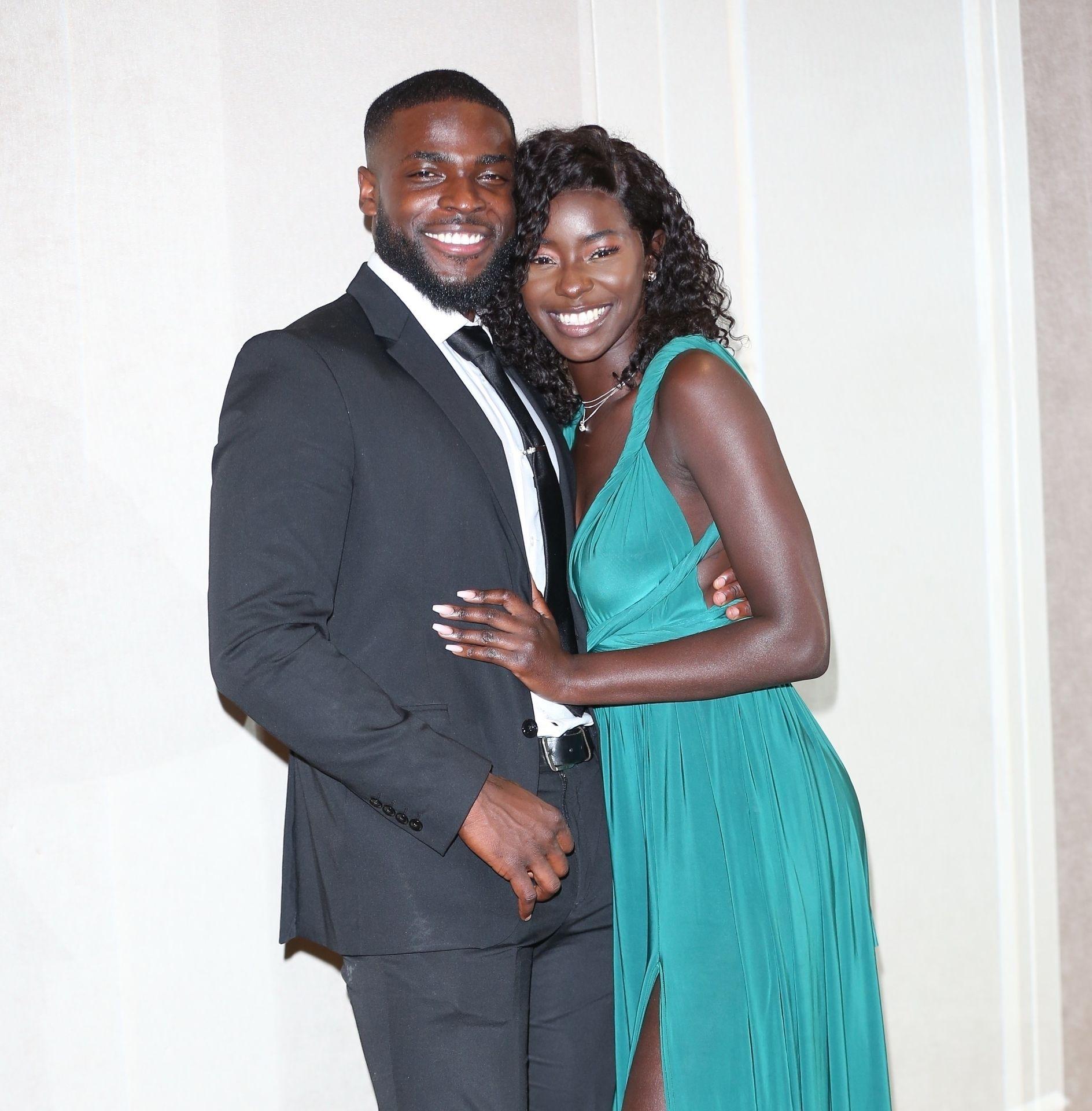 Mike Boateng & Priscilla Anyabu Are Seen At British Ethnic Diversity Sports Awards 0129