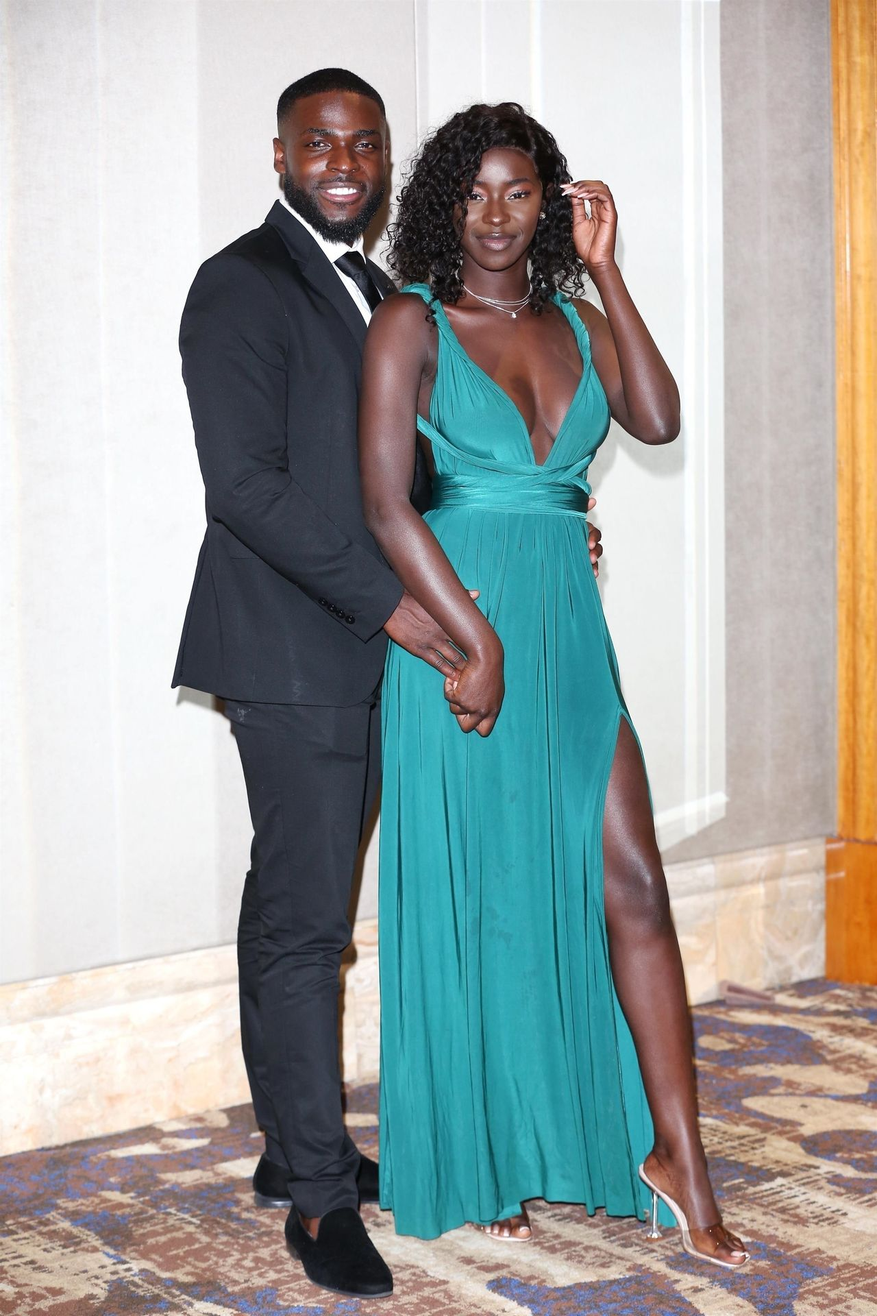 Mike Boateng & Priscilla Anyabu Are Seen At British Ethnic Diversity Sports Awards 0130