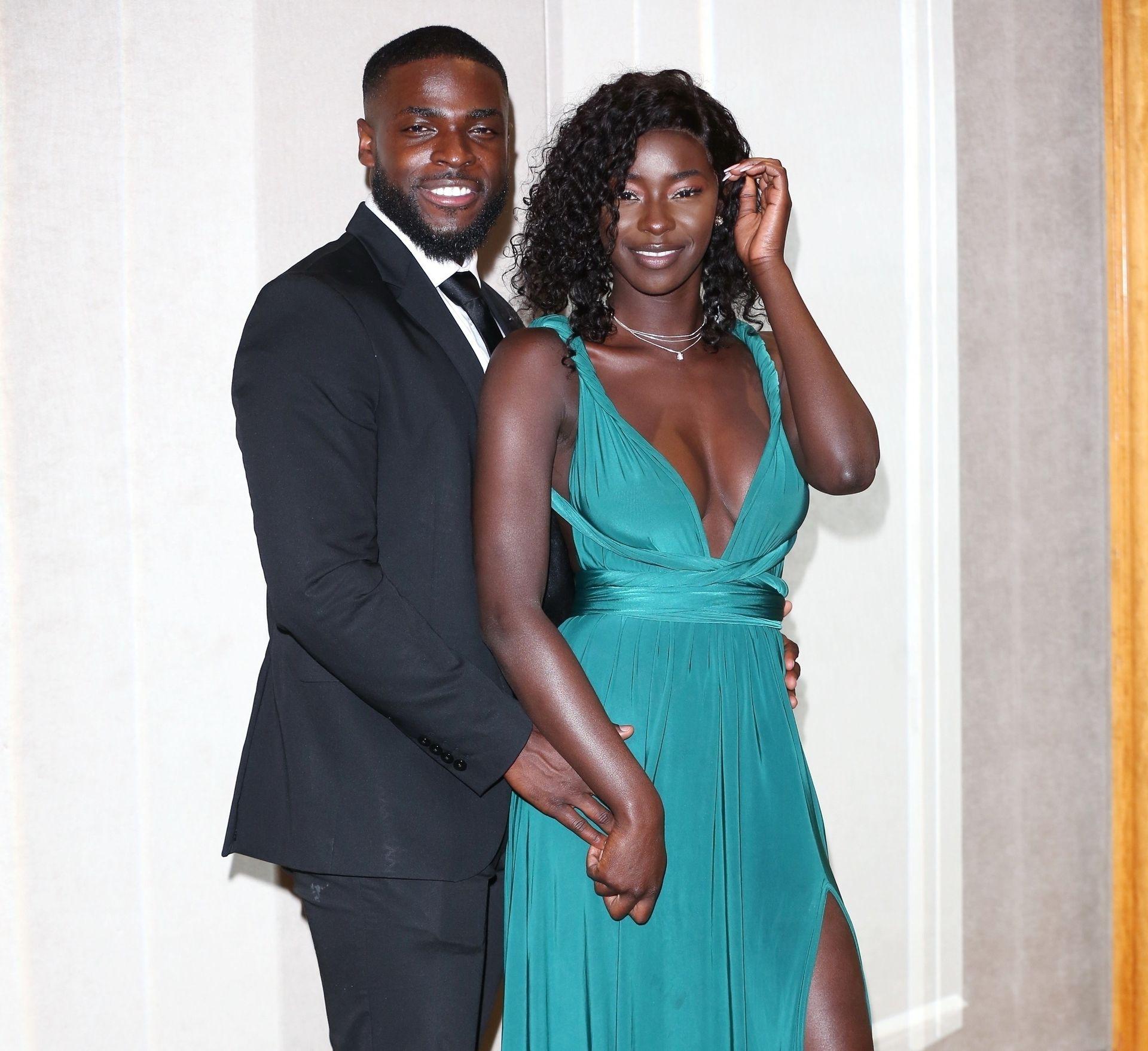 Mike Boateng & Priscilla Anyabu Are Seen At British Ethnic Diversity Sports Awards 0131