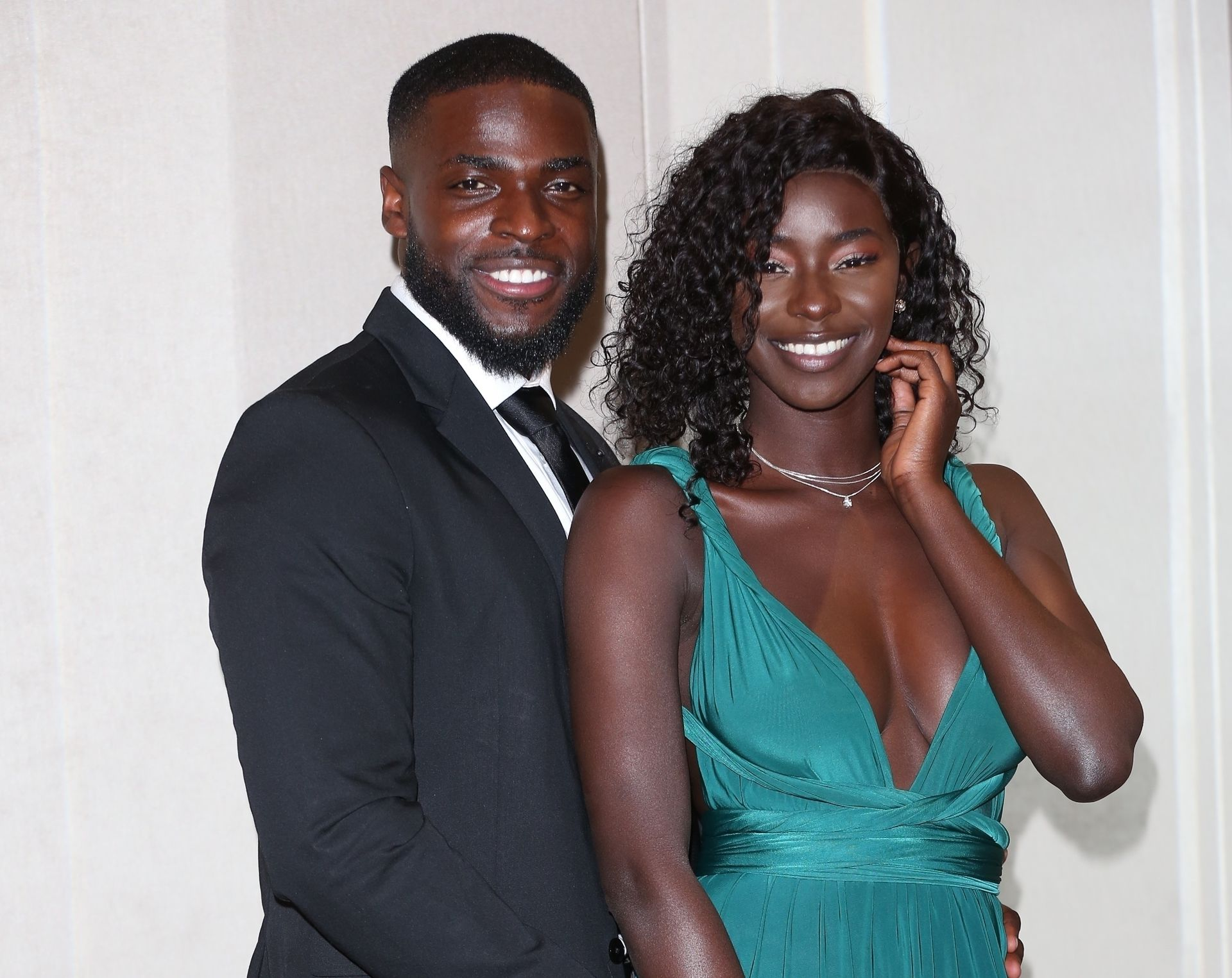 Mike Boateng & Priscilla Anyabu Are Seen At British Ethnic Diversity Sports Awards 0133