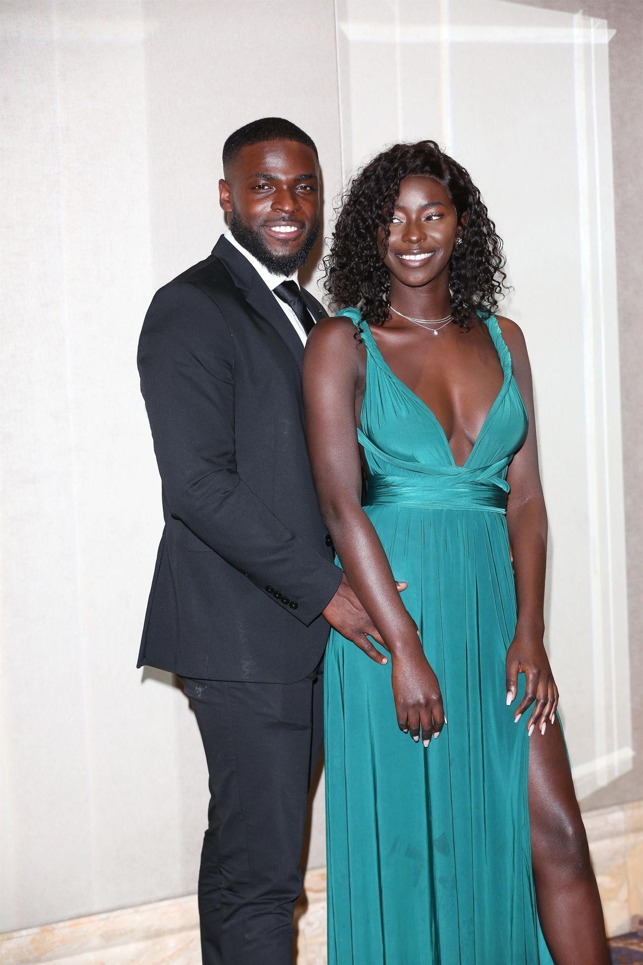 Mike Boateng & Priscilla Anyabu Are Seen At British Ethnic Diversity Sports Awards 0134