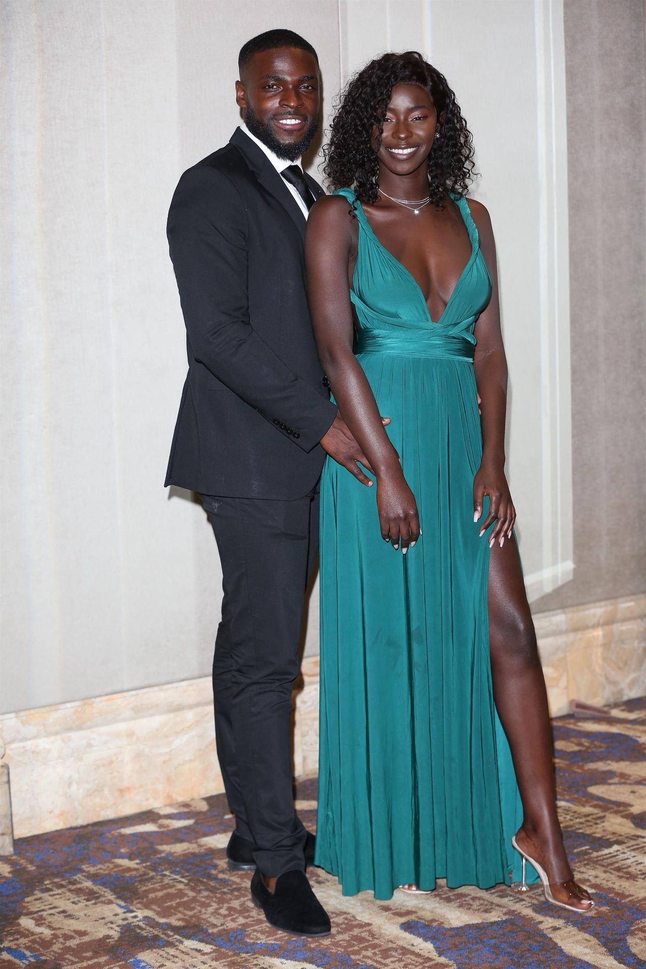 Mike Boateng & Priscilla Anyabu Are Seen At British Ethnic Diversity Sports Awards 0135