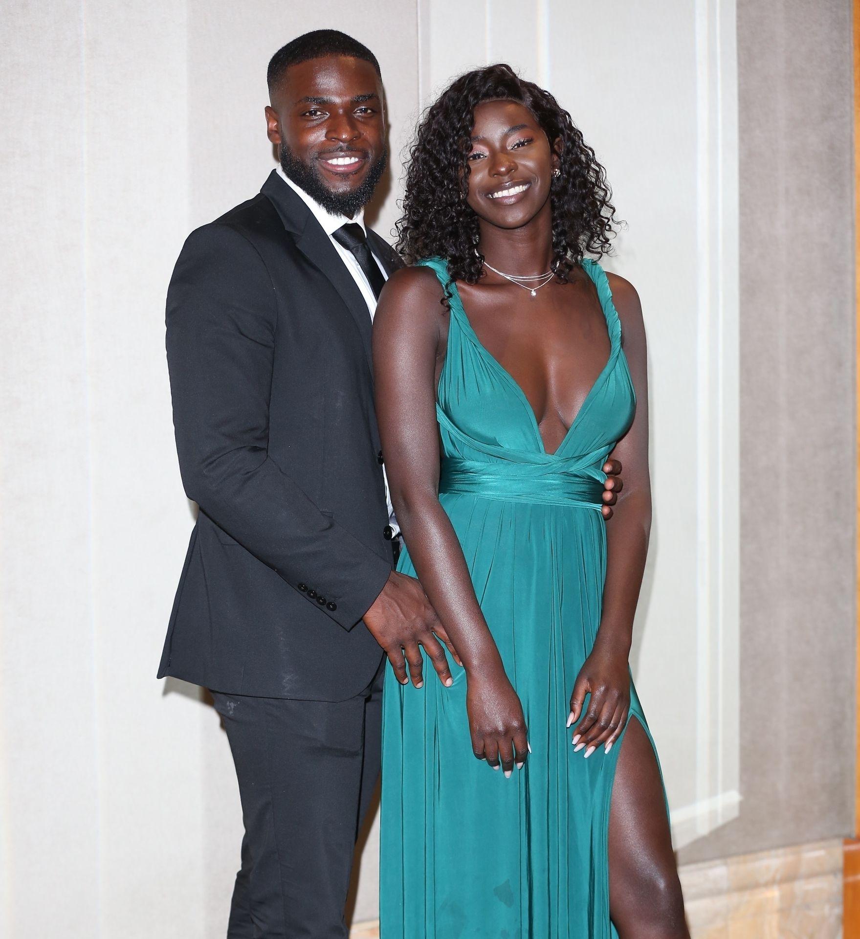Mike Boateng & Priscilla Anyabu Are Seen At British Ethnic Diversity Sports Awards 0136
