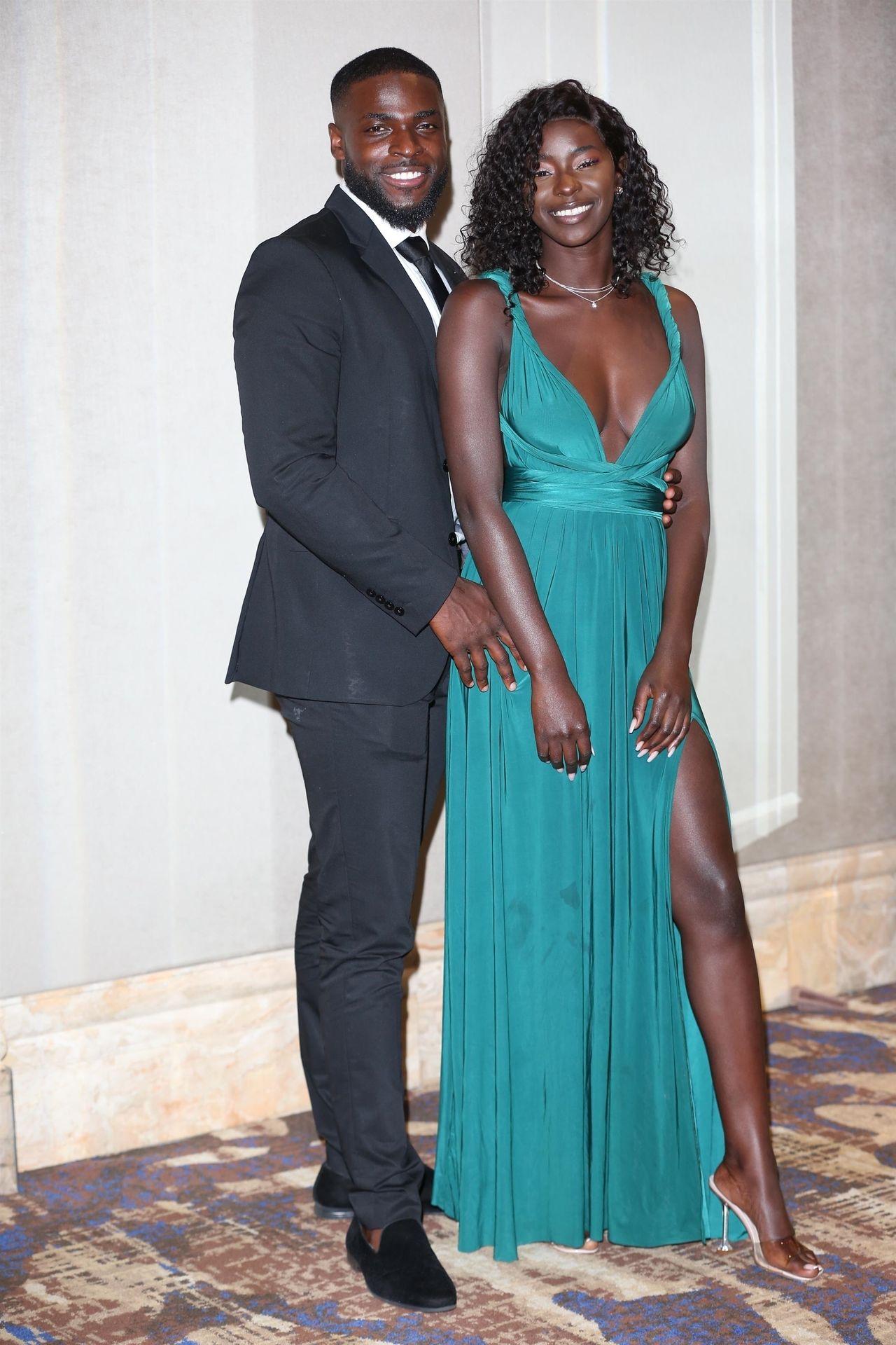 Mike Boateng & Priscilla Anyabu Are Seen At British Ethnic Diversity Sports Awards 0137