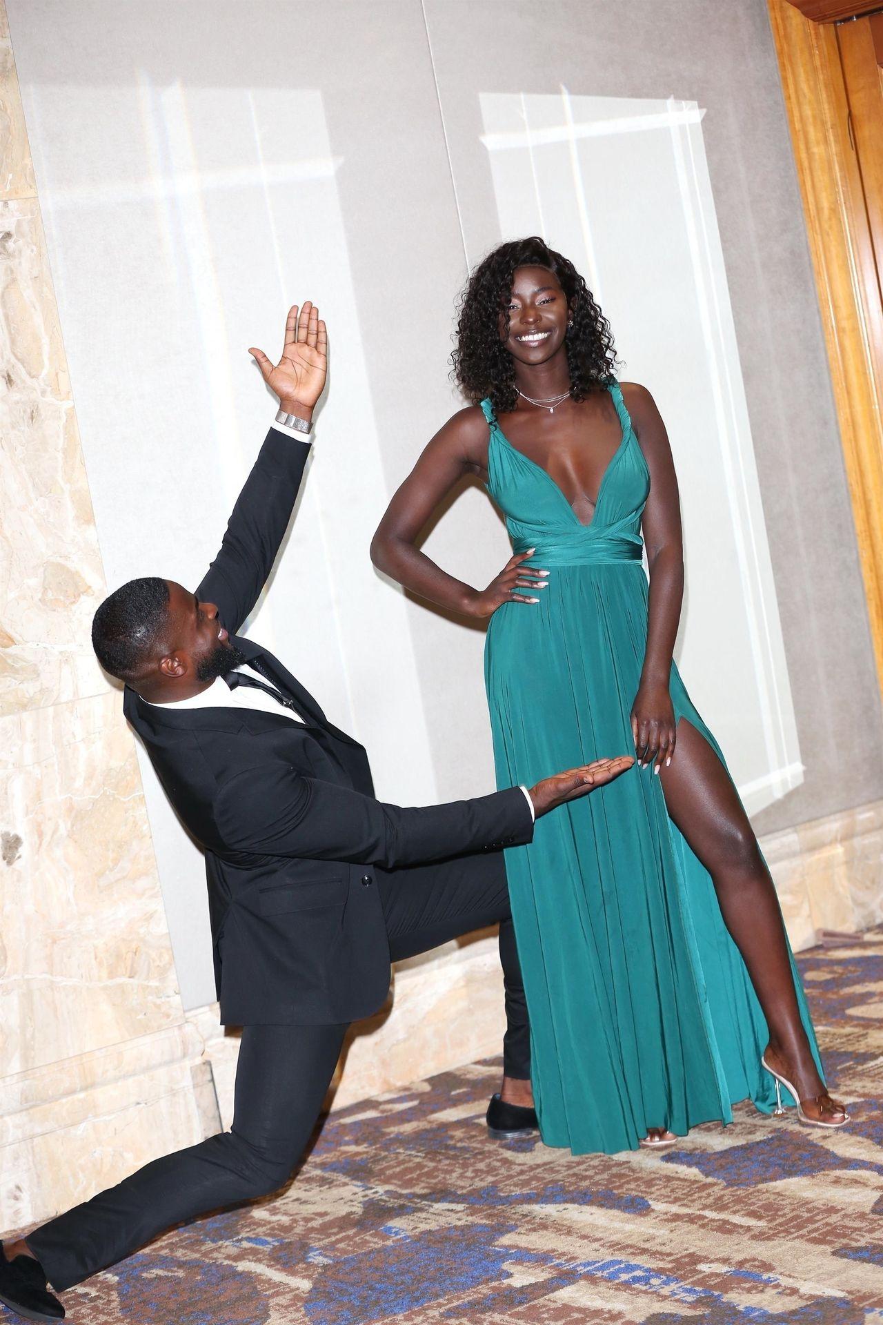 Mike Boateng & Priscilla Anyabu Are Seen At British Ethnic Diversity Sports Awards 0138