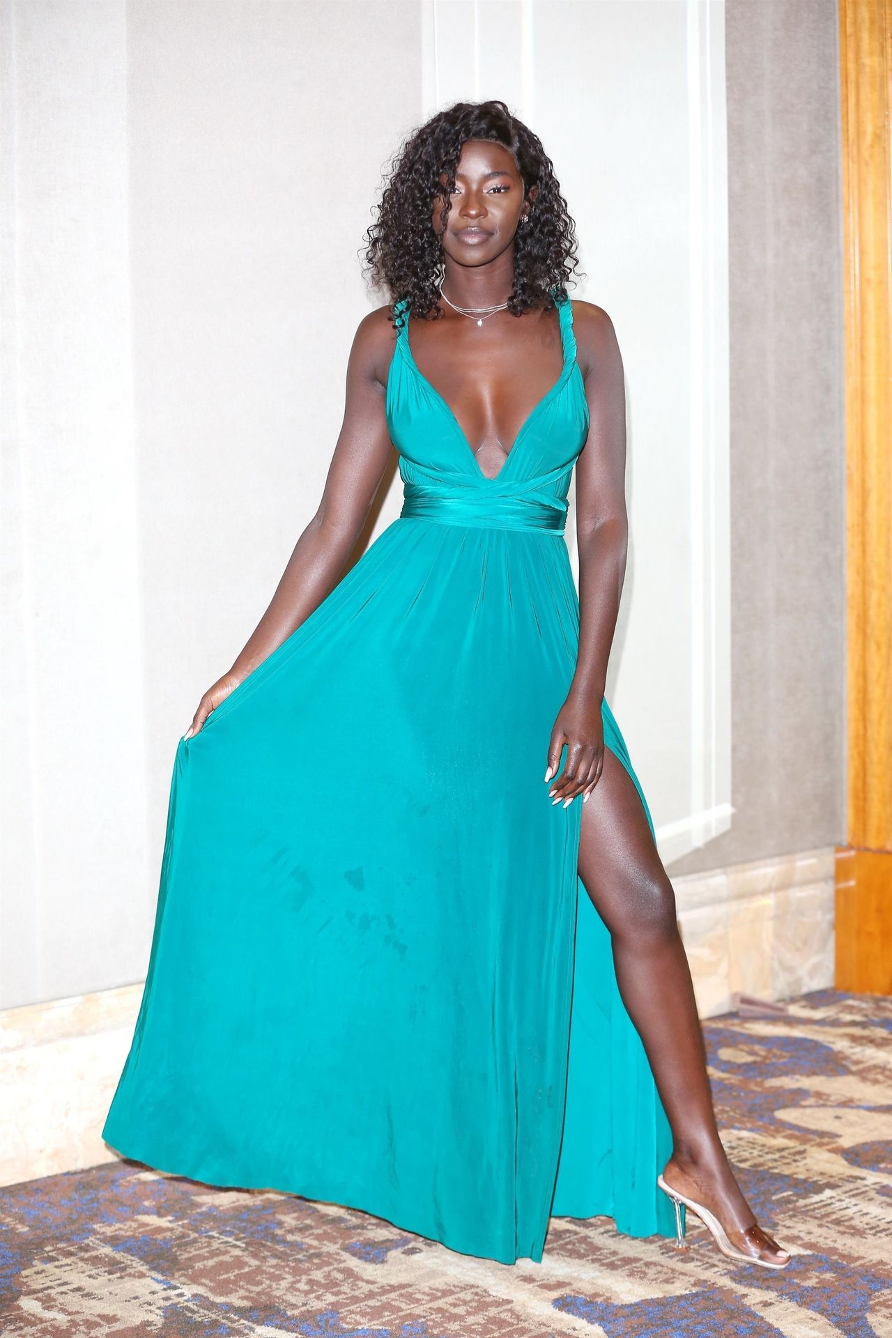 Mike Boateng & Priscilla Anyabu Are Seen At British Ethnic Diversity Sports Awards 0146