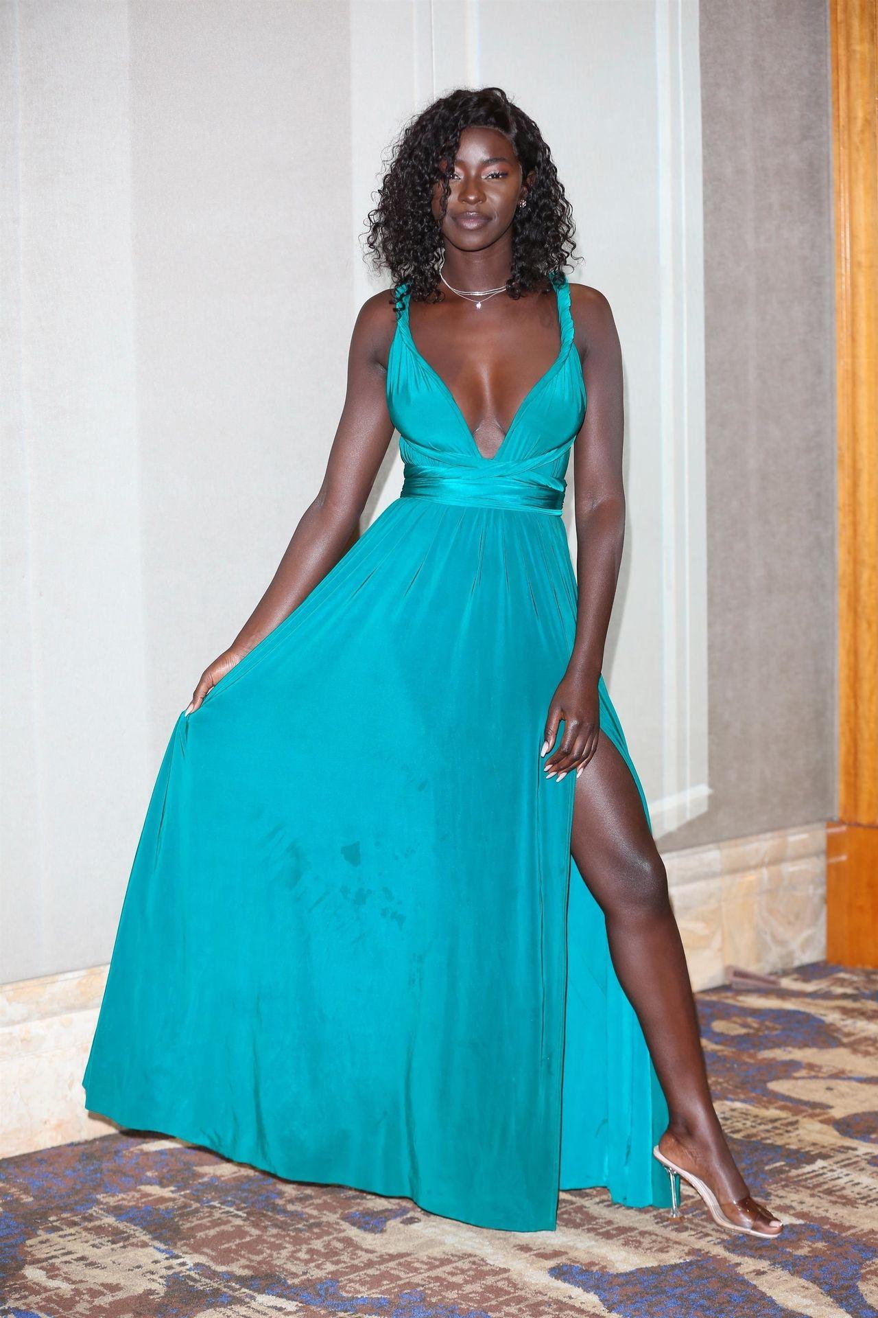 Mike Boateng & Priscilla Anyabu Are Seen At British Ethnic Diversity Sports Awards 0147