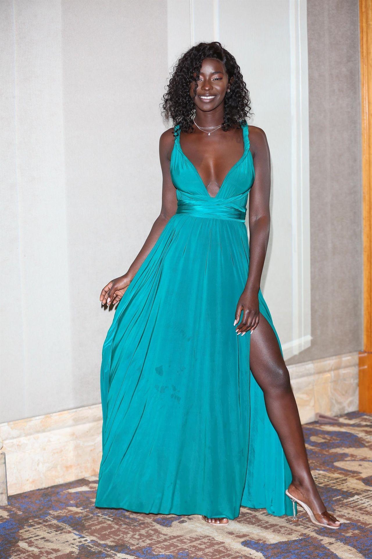 Mike Boateng & Priscilla Anyabu Are Seen At British Ethnic Diversity Sports Awards 0148