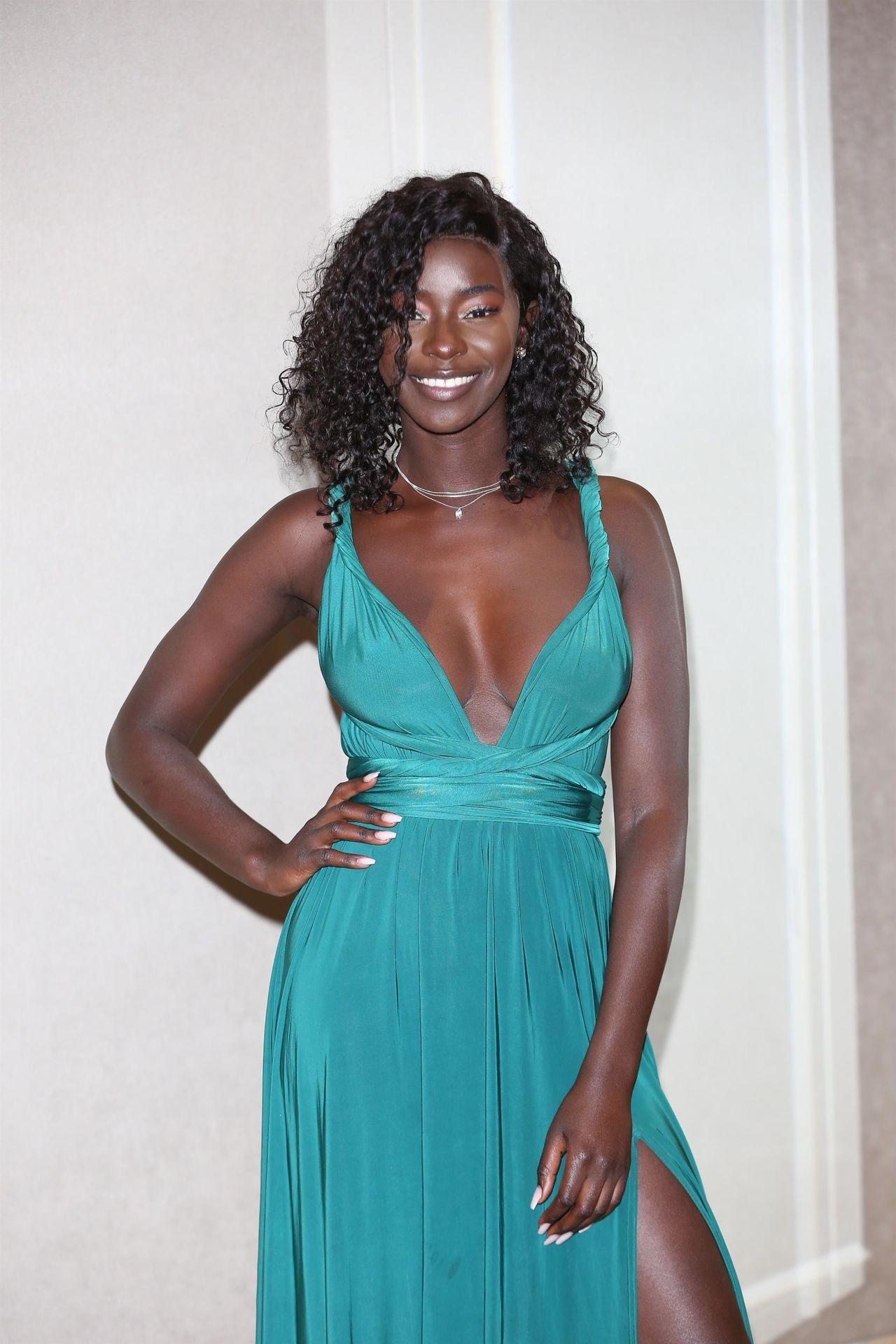 Mike Boateng & Priscilla Anyabu Are Seen At British Ethnic Diversity Sports Awards 0149