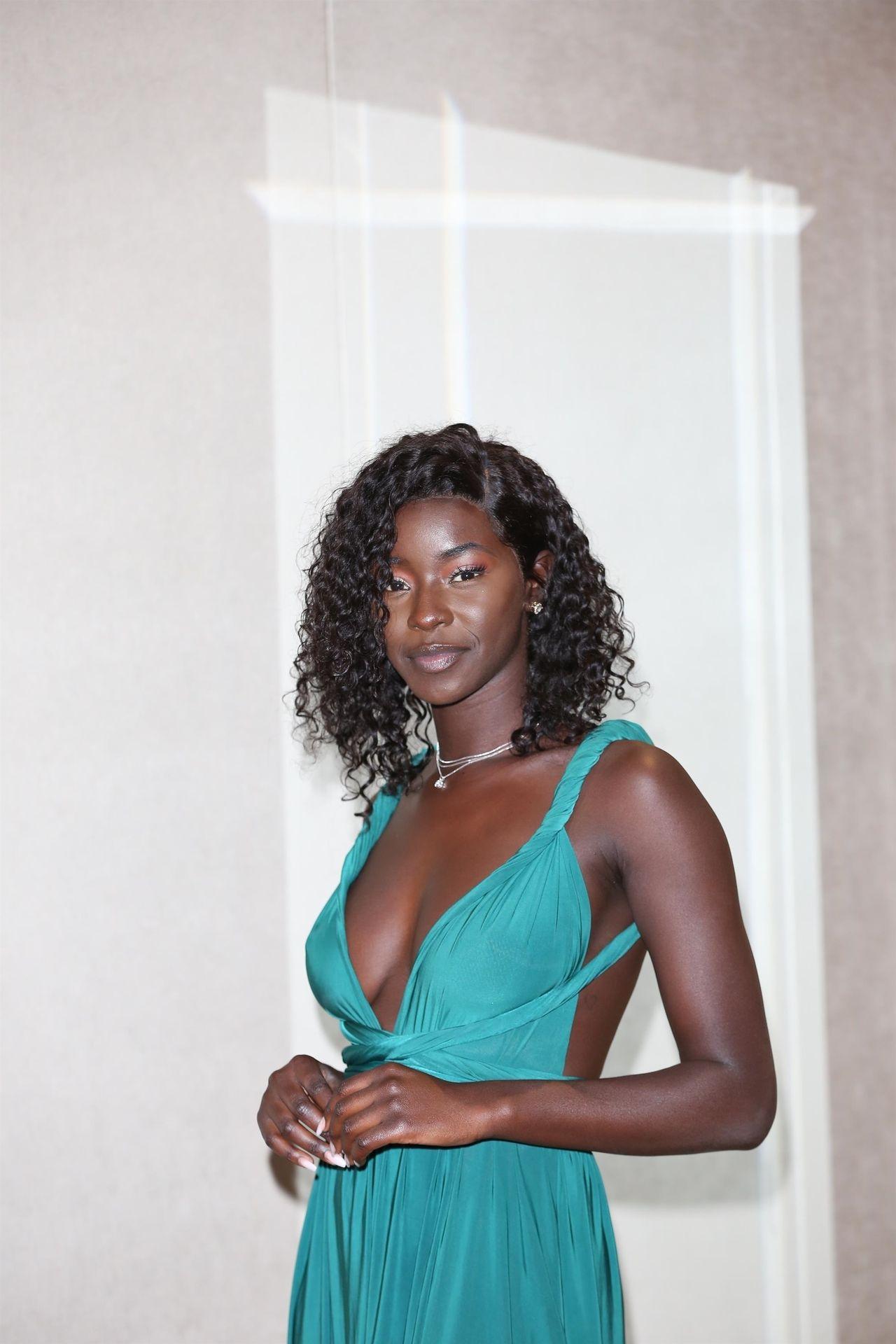 Mike Boateng & Priscilla Anyabu Are Seen At British Ethnic Diversity Sports Awards 0151