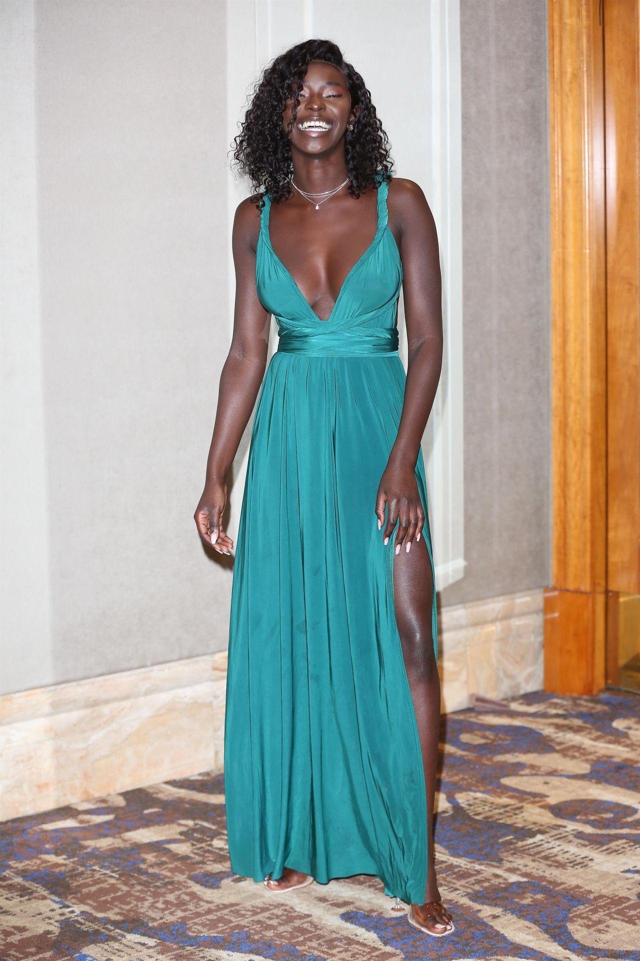 Mike Boateng & Priscilla Anyabu Are Seen At British Ethnic Diversity Sports Awards 0157