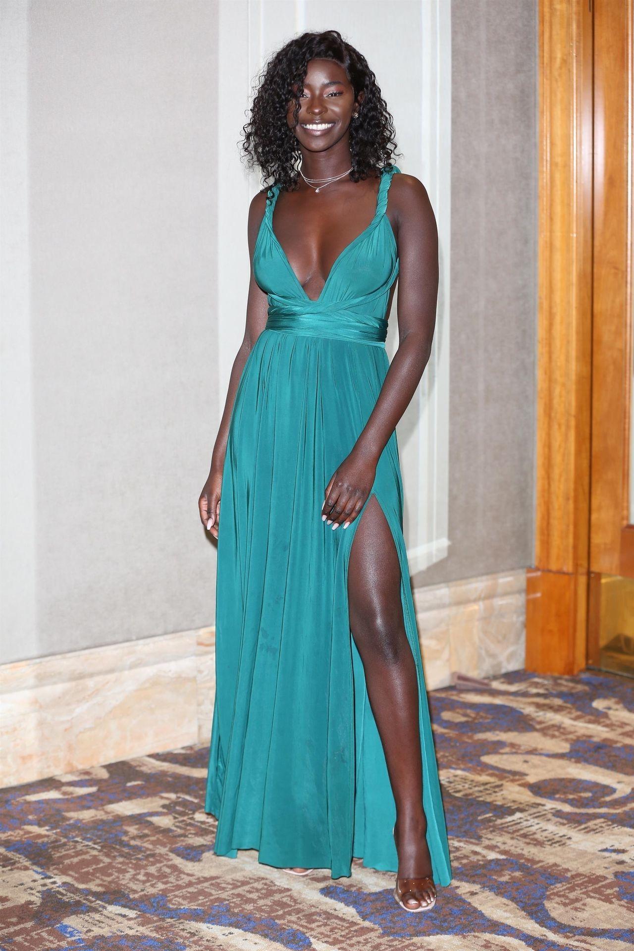 Mike Boateng & Priscilla Anyabu Are Seen At British Ethnic Diversity Sports Awards 0158