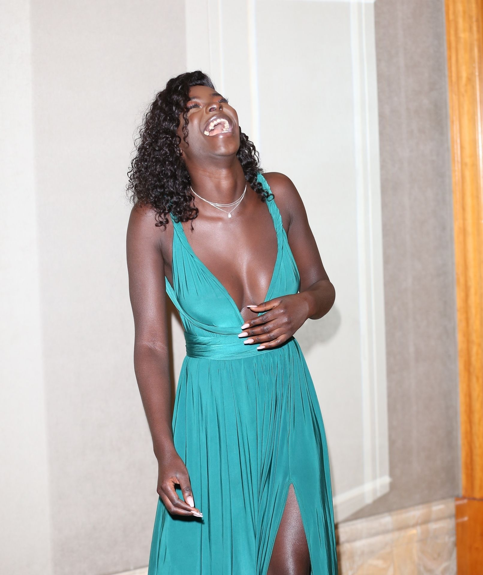Mike Boateng & Priscilla Anyabu Are Seen At British Ethnic Diversity Sports Awards 0163