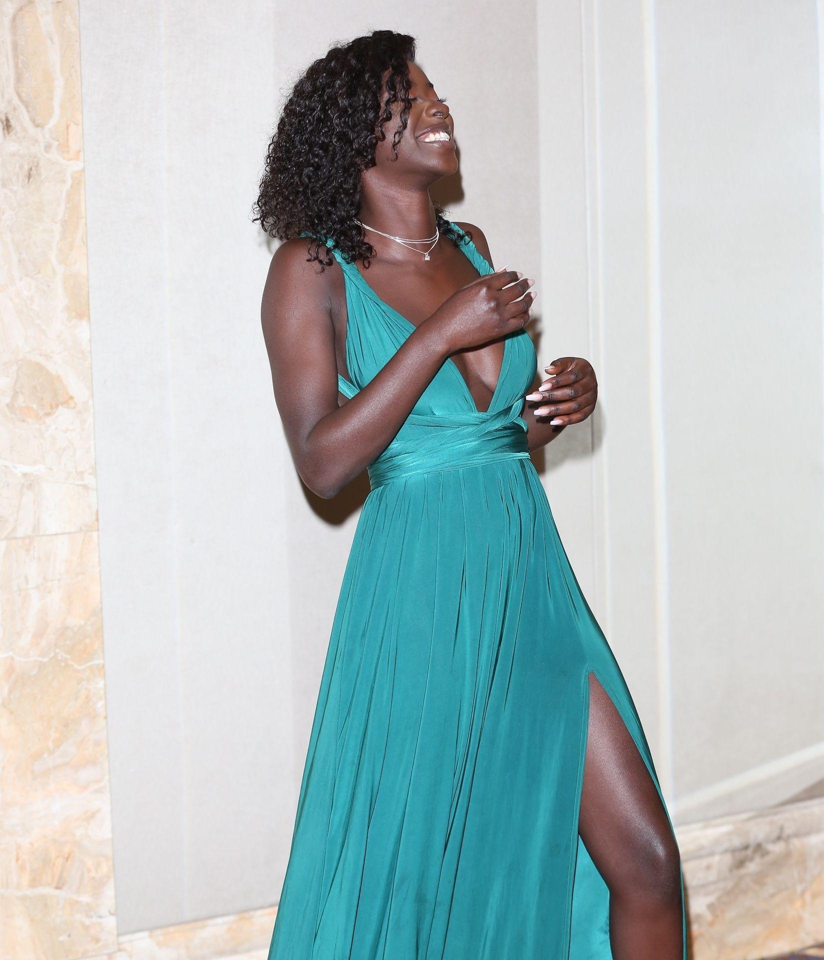 Mike Boateng & Priscilla Anyabu Are Seen At British Ethnic Diversity Sports Awards 0164