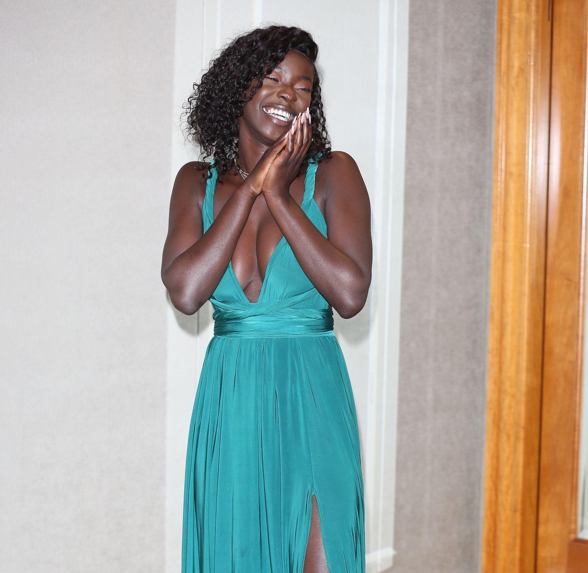 Mike Boateng & Priscilla Anyabu Are Seen At British Ethnic Diversity Sports Awards 0165