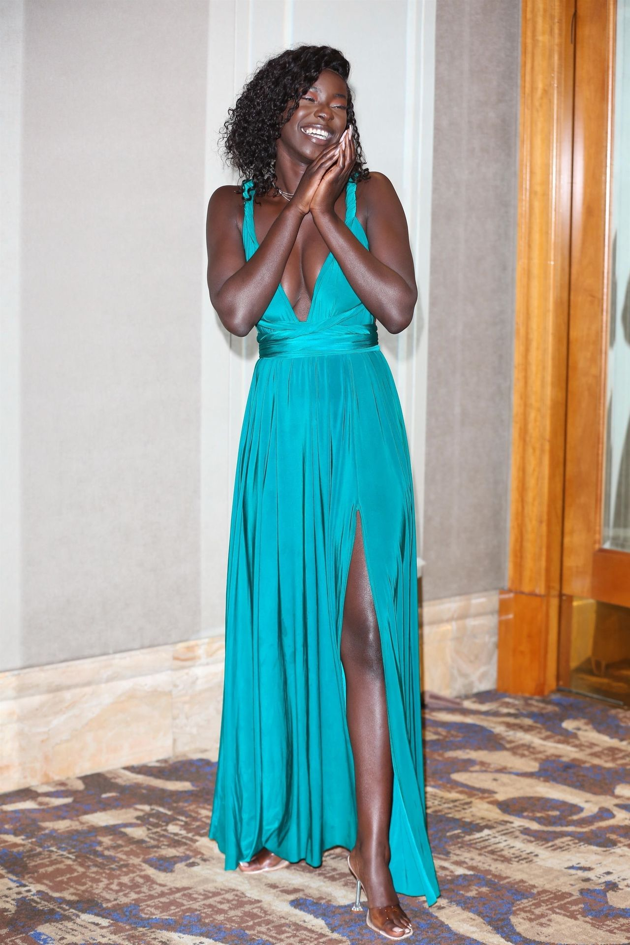 Mike Boateng & Priscilla Anyabu Are Seen At British Ethnic Diversity Sports Awards 0166