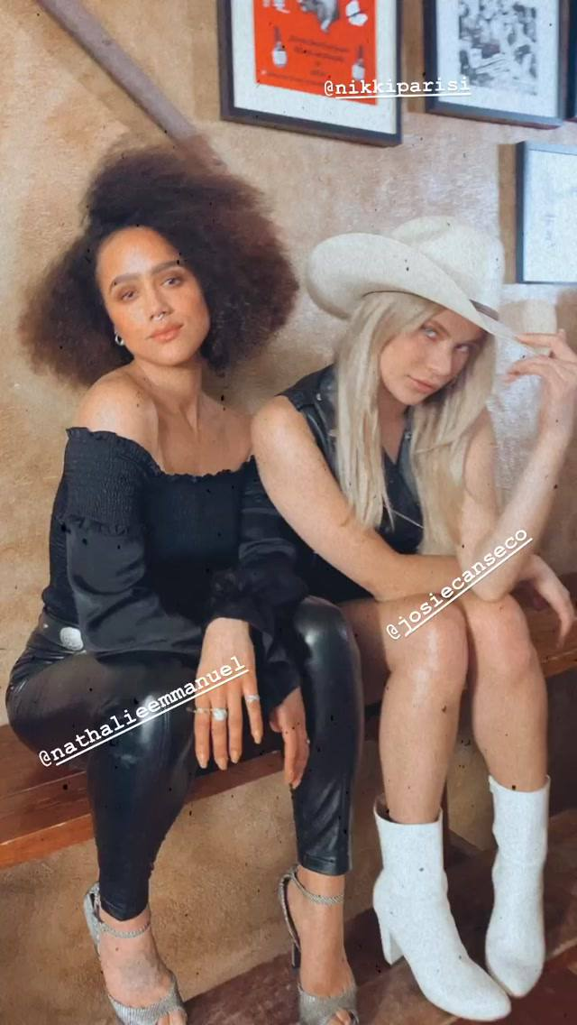 Nathalie Emmanuel & Josie Canseco Pose For A New Photoshoot 0005