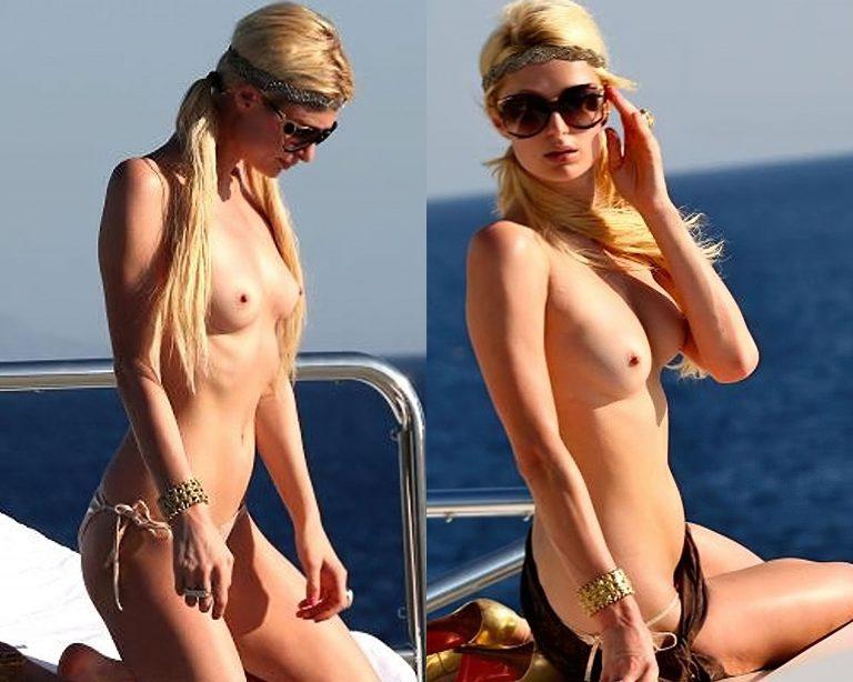Paris Hilton Nude Collage Thefappening