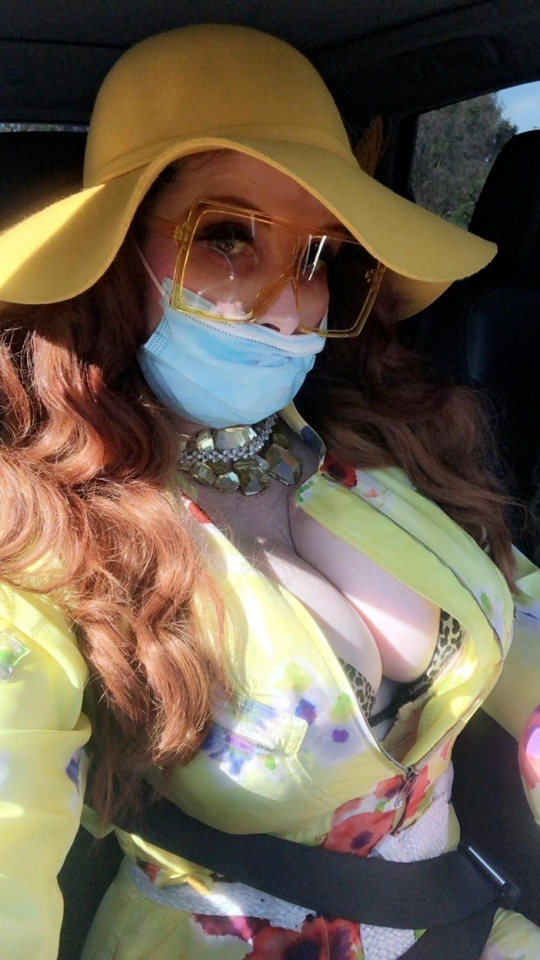 Phoebe Price Isn't Taking Any Chances When It Comes To The Coronavirus 0022