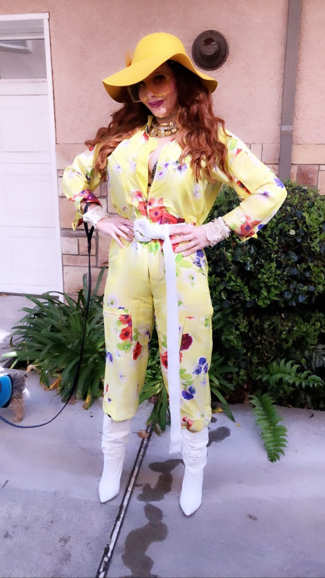 Phoebe Price Isn't Taking Any Chances When It Comes To The Coronavirus 0059
