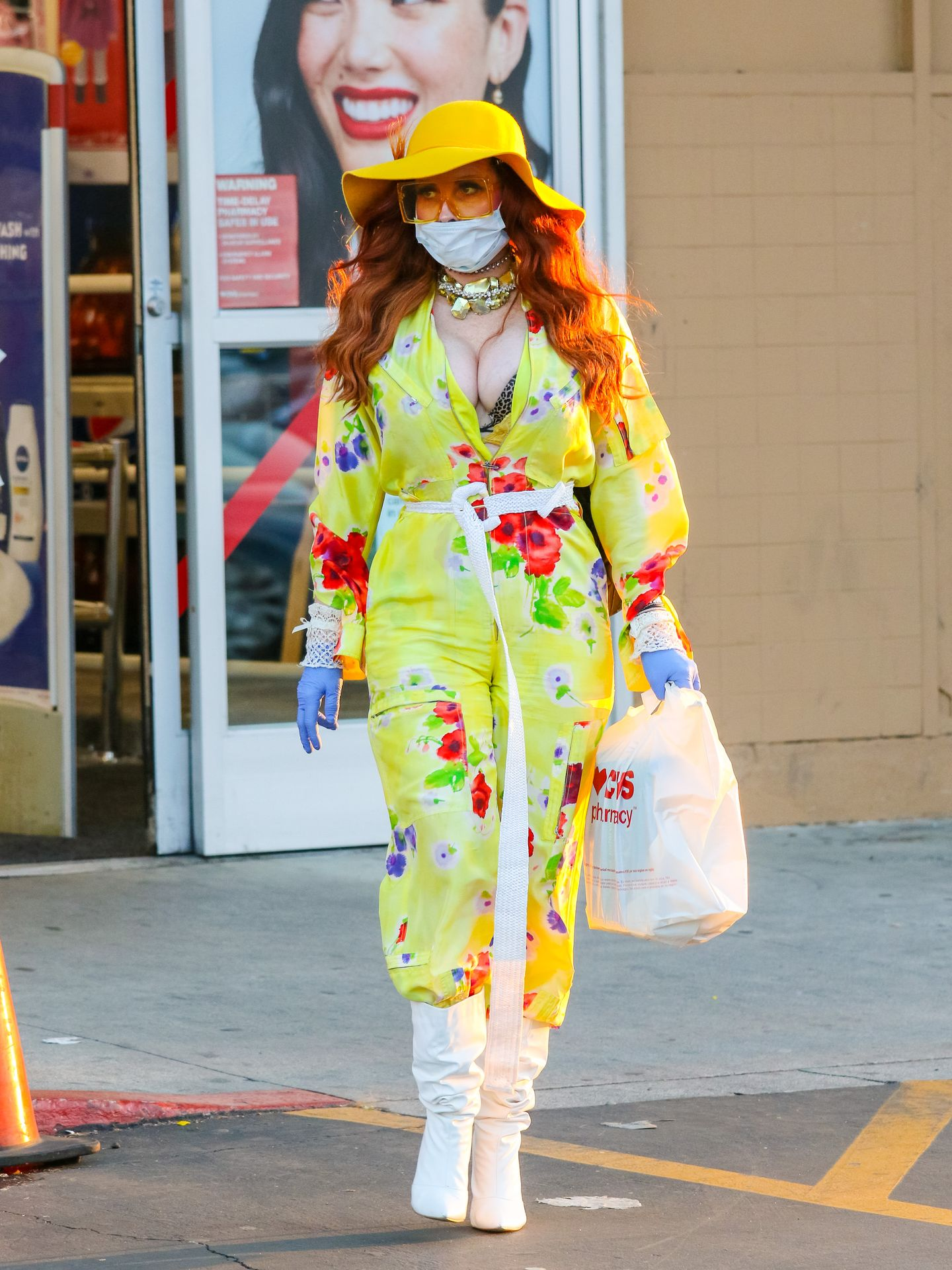 Phoebe Price Isn't Taking Any Chances When It Comes To The Coronavirus 0060