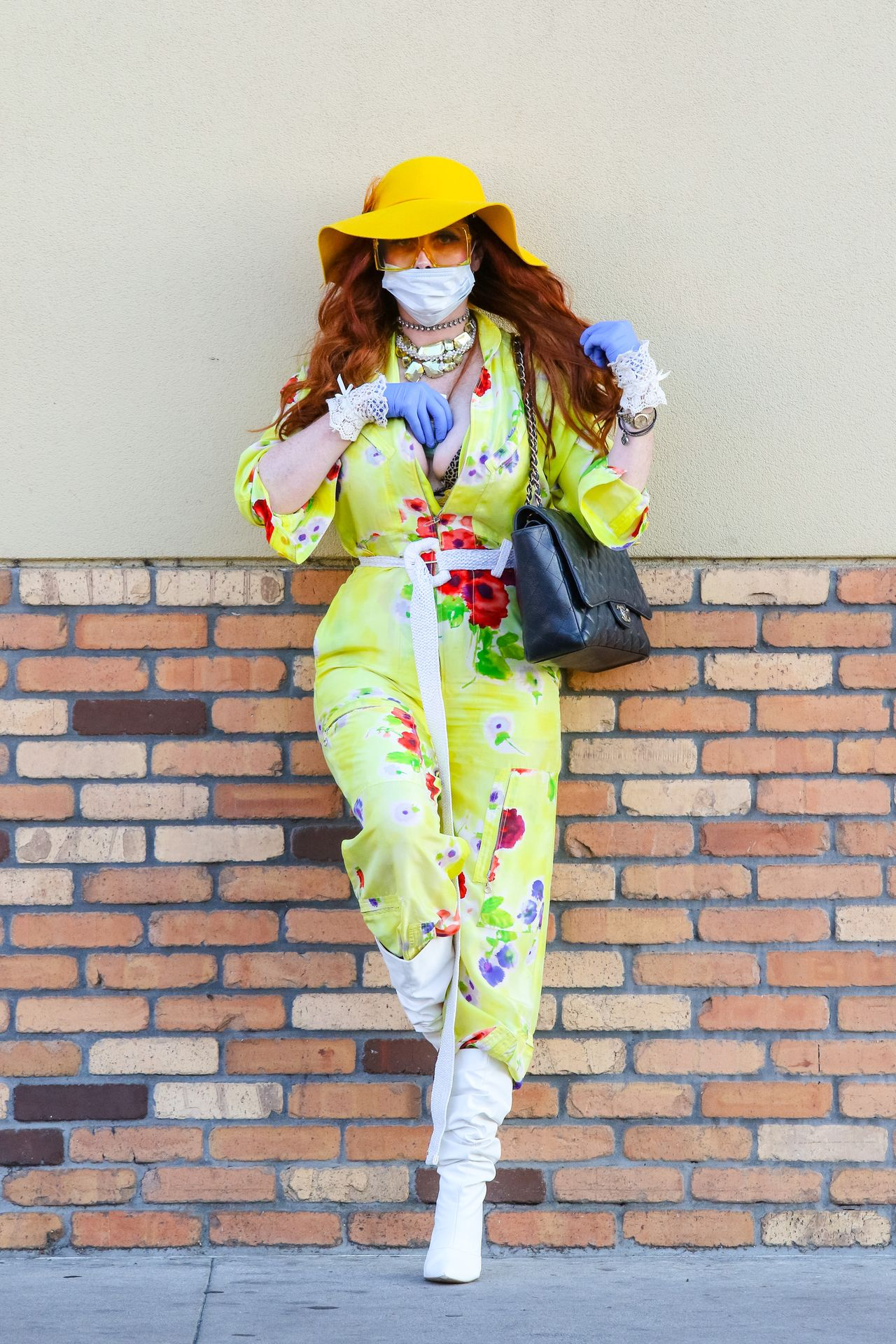 Phoebe Price Isn't Taking Any Chances When It Comes To The Coronavirus 0061