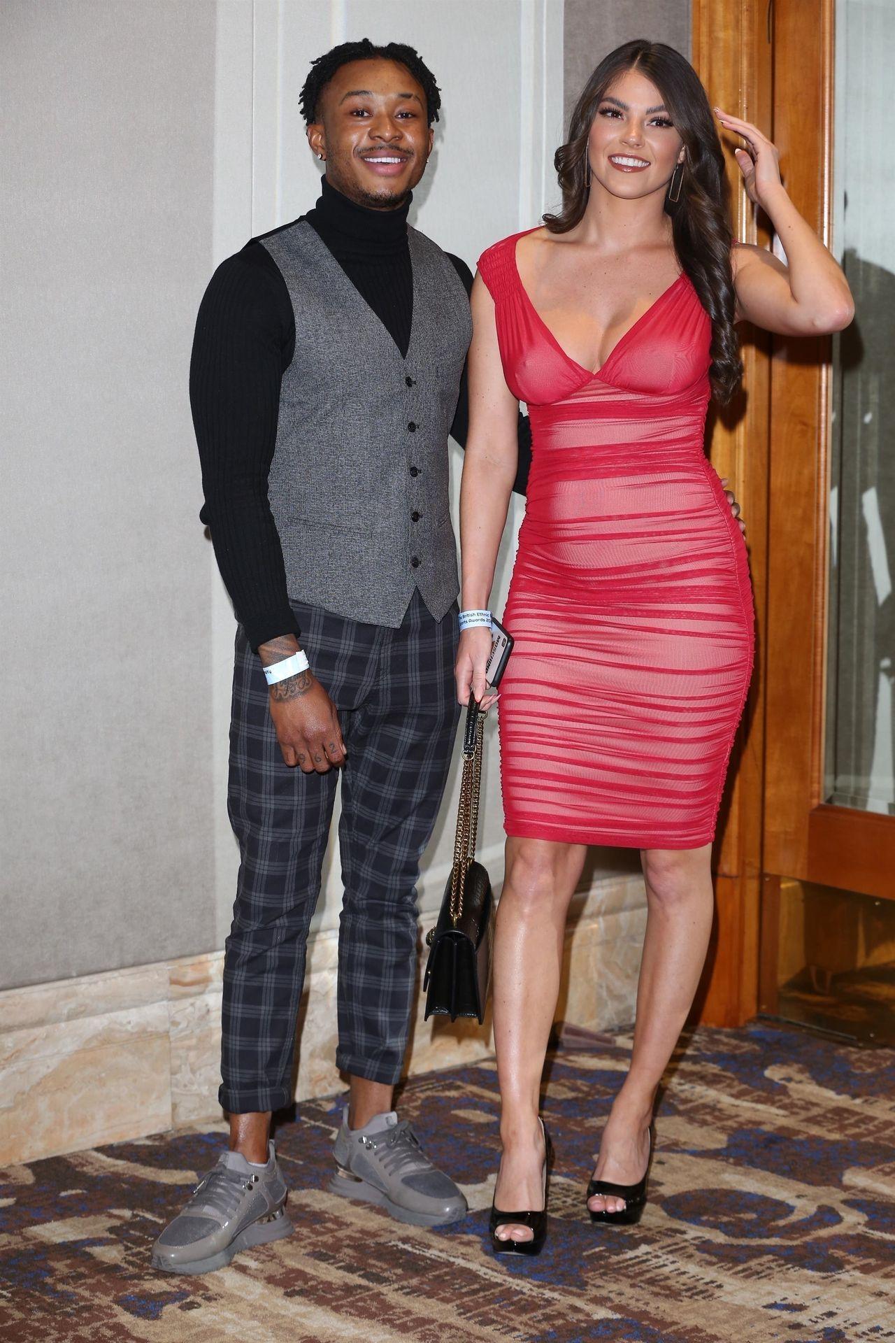 Rebecca Gormley & Biggs Chris Attend British Ethnic Diversity Sports Awards 0020
