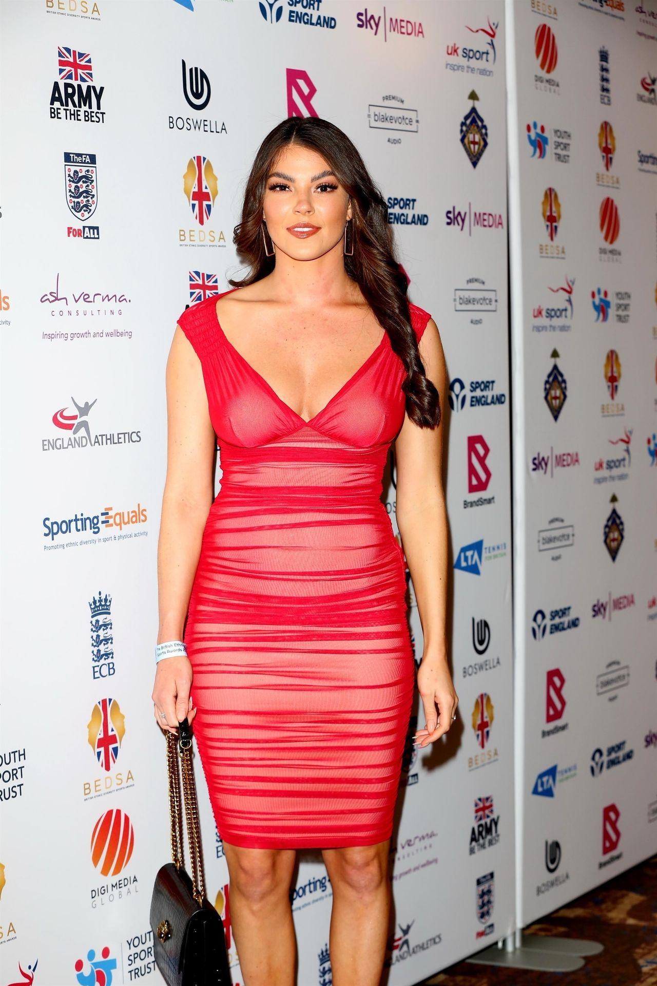 Rebecca Gormley & Biggs Chris Attend British Ethnic Diversity Sports Awards 0049