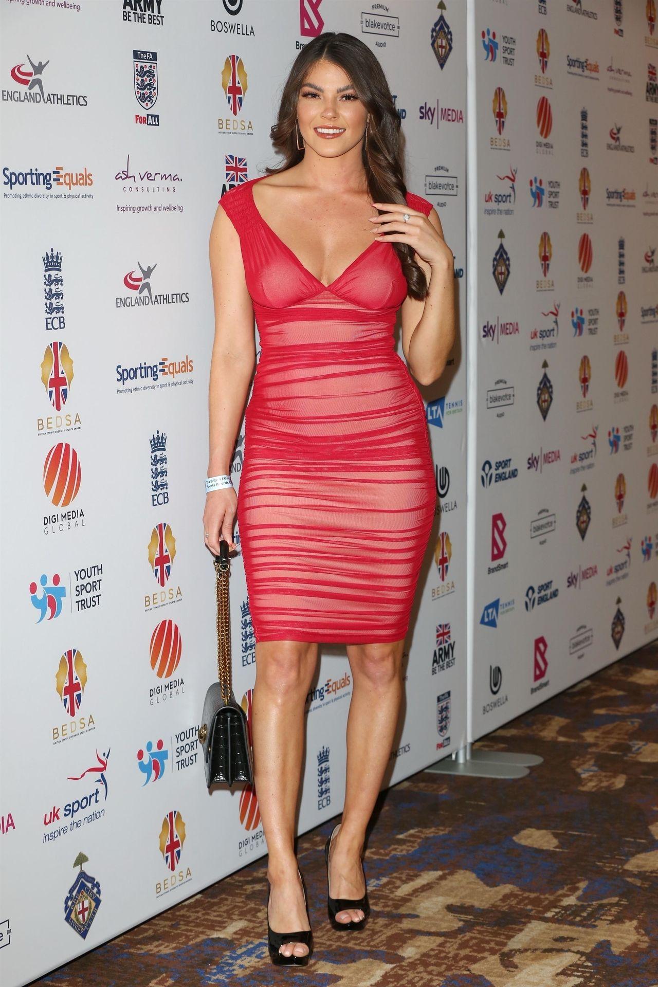 Rebecca Gormley & Biggs Chris Attend British Ethnic Diversity Sports Awards 0050