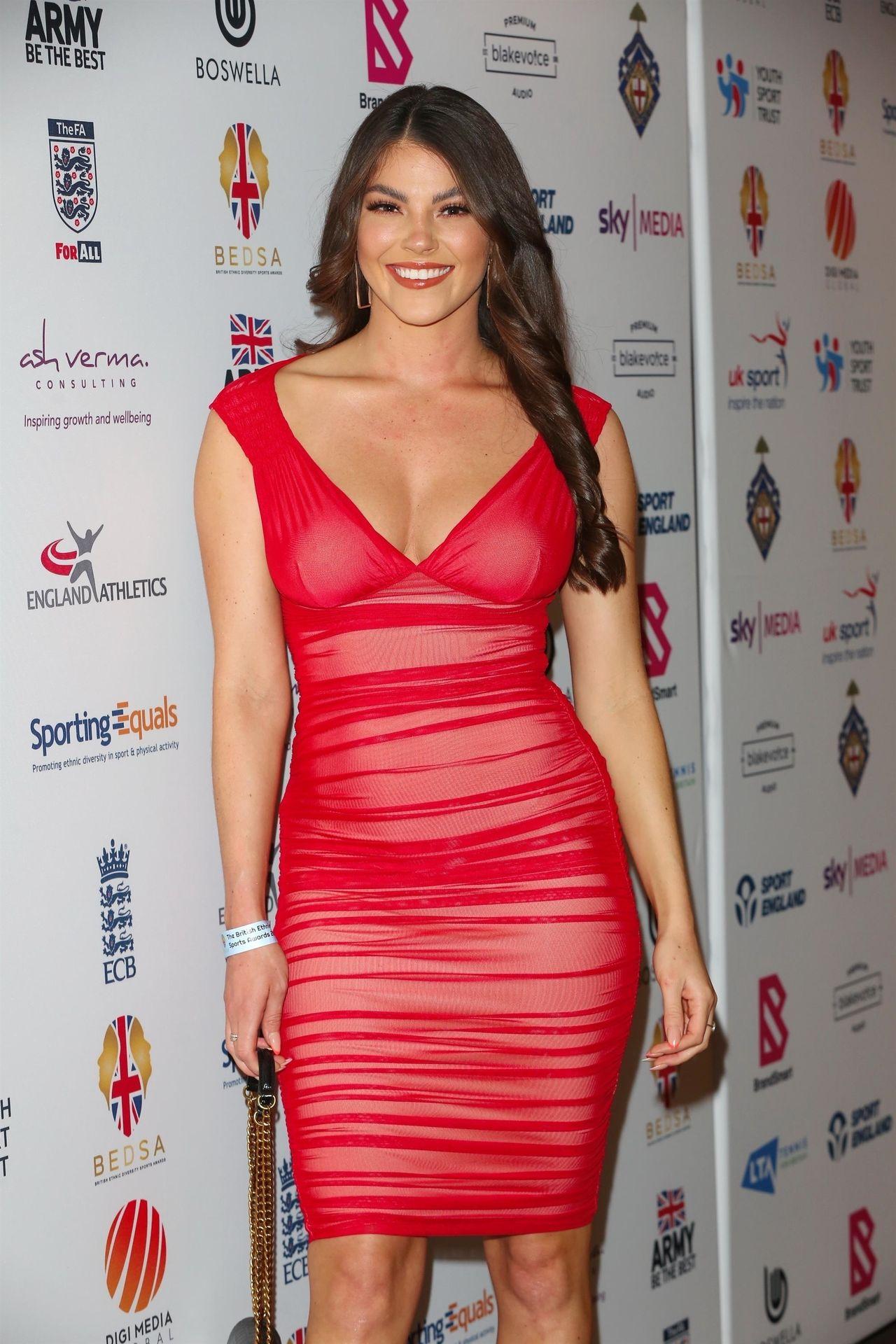 Rebecca Gormley & Biggs Chris Attend British Ethnic Diversity Sports Awards 0051