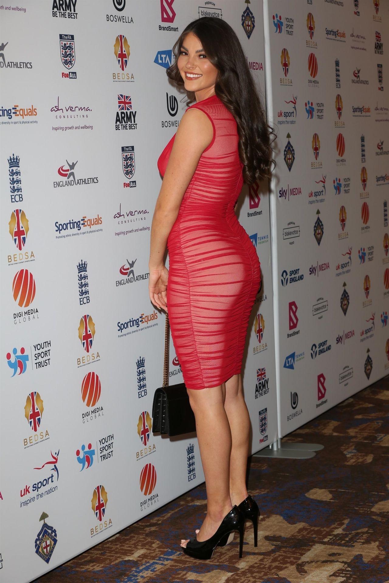 Rebecca Gormley & Biggs Chris Attend British Ethnic Diversity Sports Awards 0056