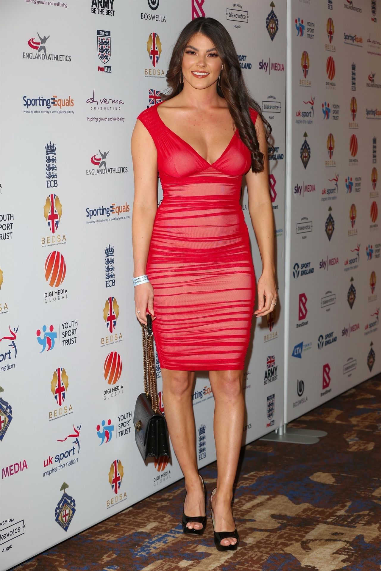 Rebecca Gormley & Biggs Chris Attend British Ethnic Diversity Sports Awards 0059