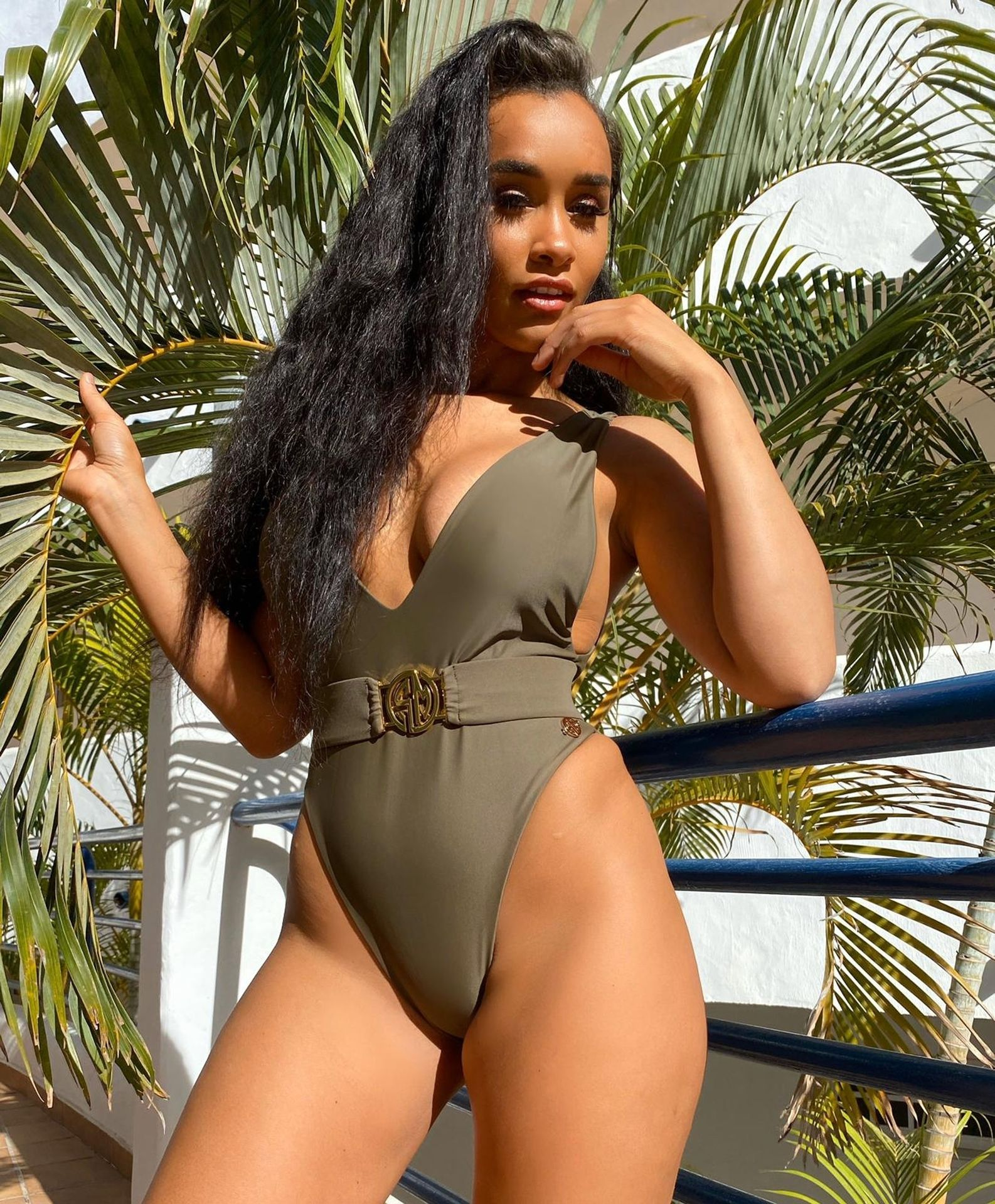 Sian Gabbidon Gets The Pulses Racing By Showcasing Her New Swimwear Collection 0013