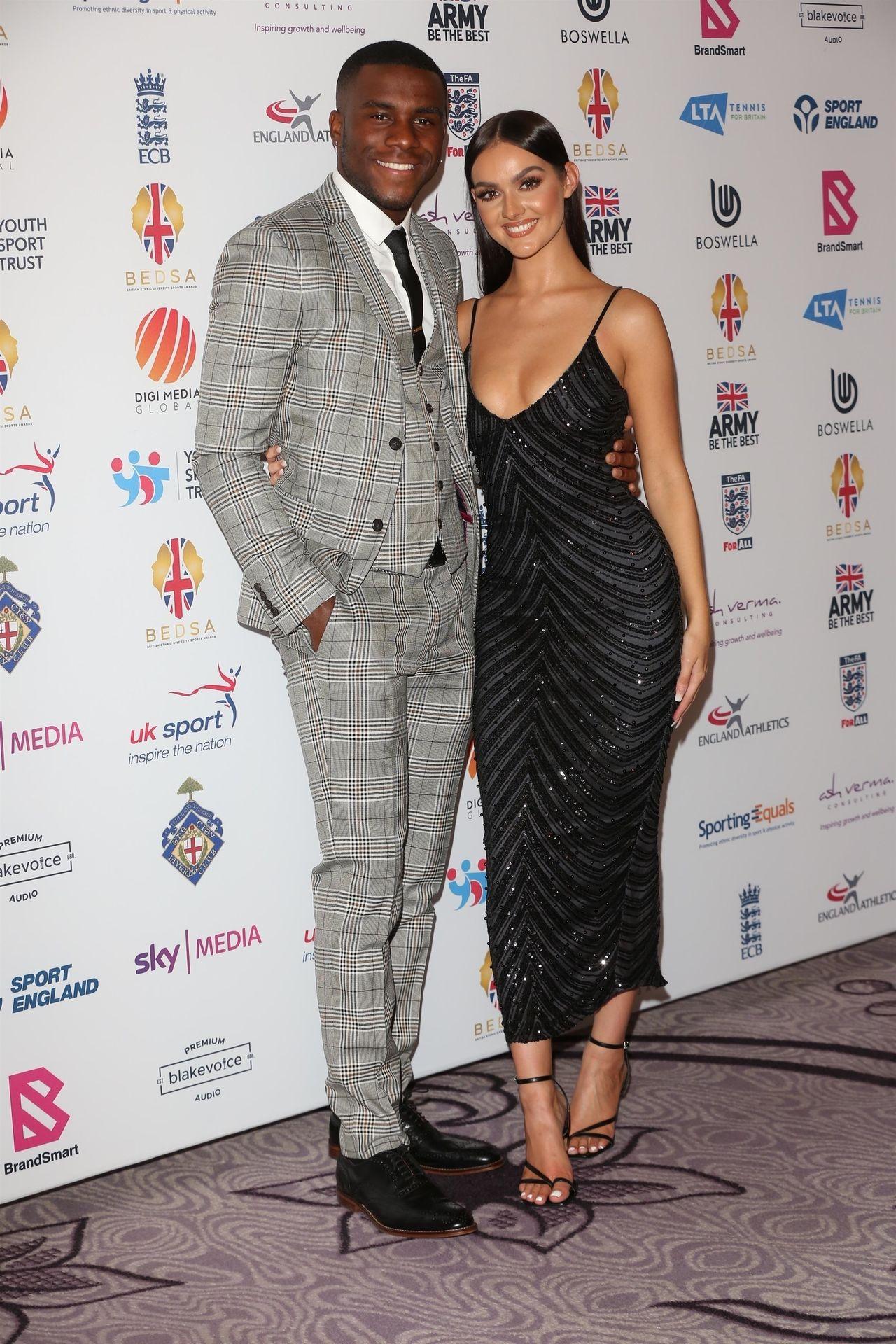 Siannise Fudge & Luke Trotman Are Seen At British Ethnic Diversity Sports Awards 0030