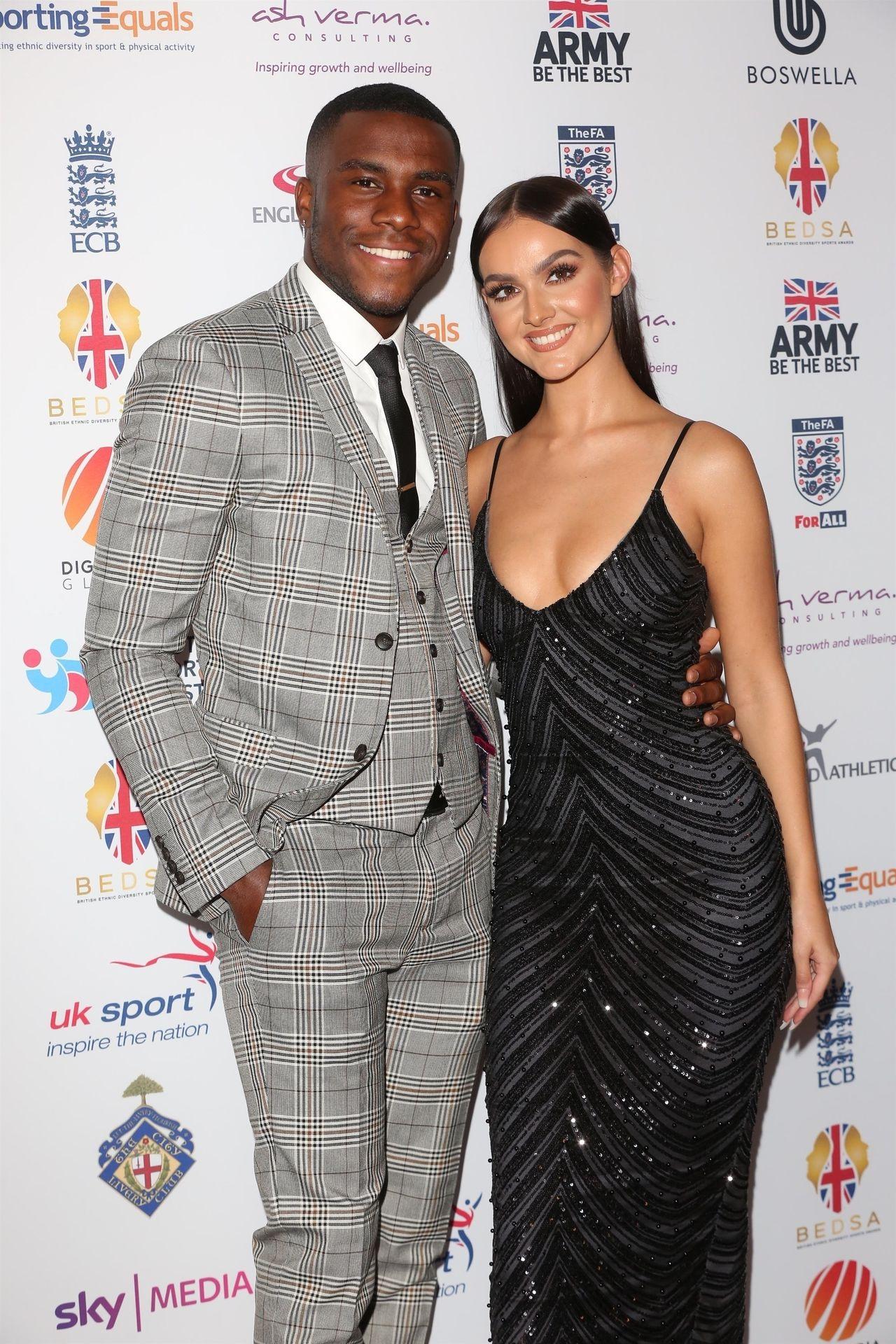 Siannise Fudge & Luke Trotman Are Seen At British Ethnic Diversity Sports Awards 0037