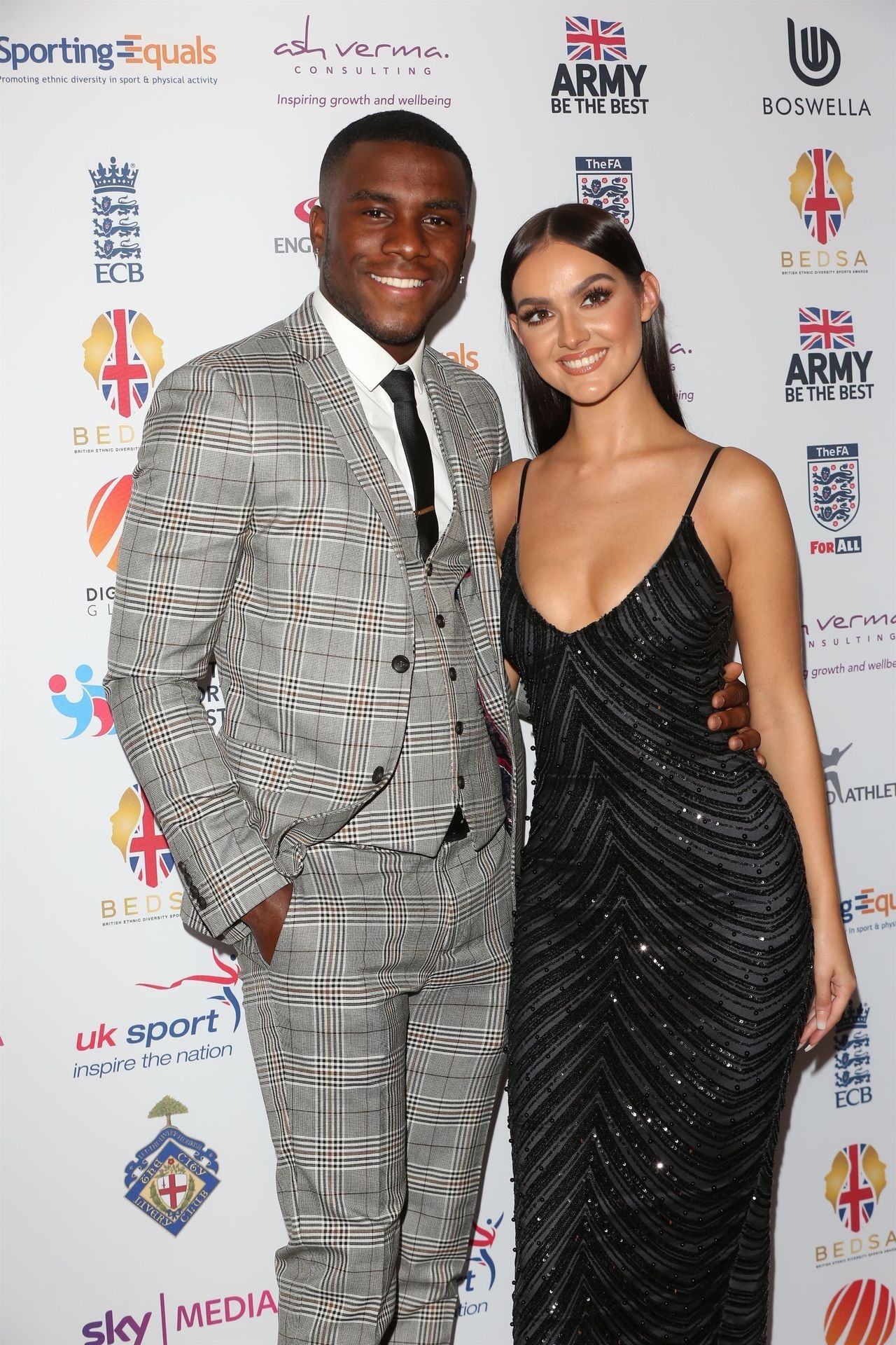 Siannise Fudge & Luke Trotman Are Seen At British Ethnic Diversity Sports Awards 0040