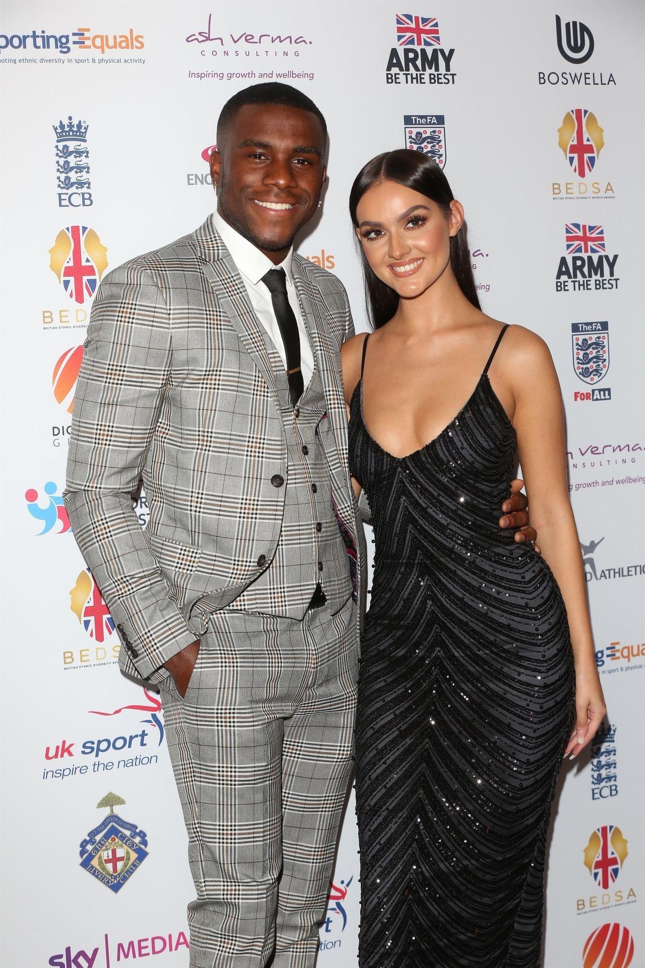 Siannise Fudge & Luke Trotman Are Seen At British Ethnic Diversity Sports Awards 0041
