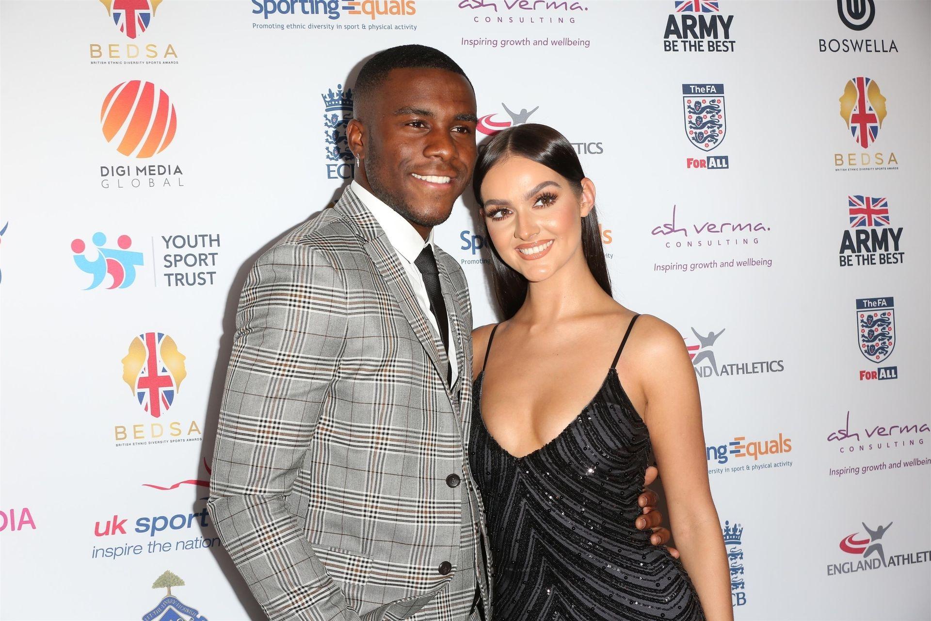 Siannise Fudge & Luke Trotman Are Seen At British Ethnic Diversity Sports Awards 0042