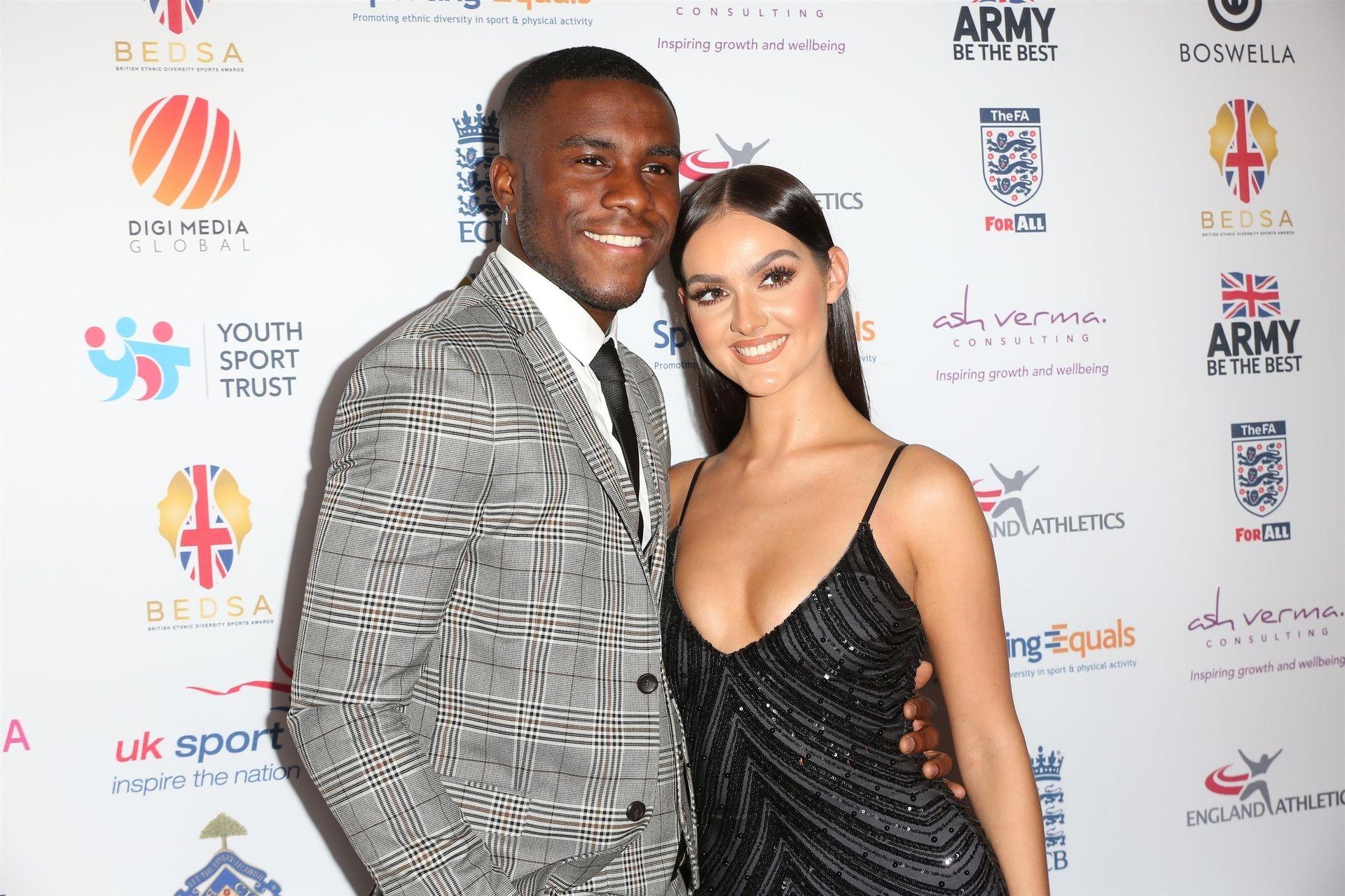 Siannise Fudge & Luke Trotman Are Seen At British Ethnic Diversity Sports Awards 0045