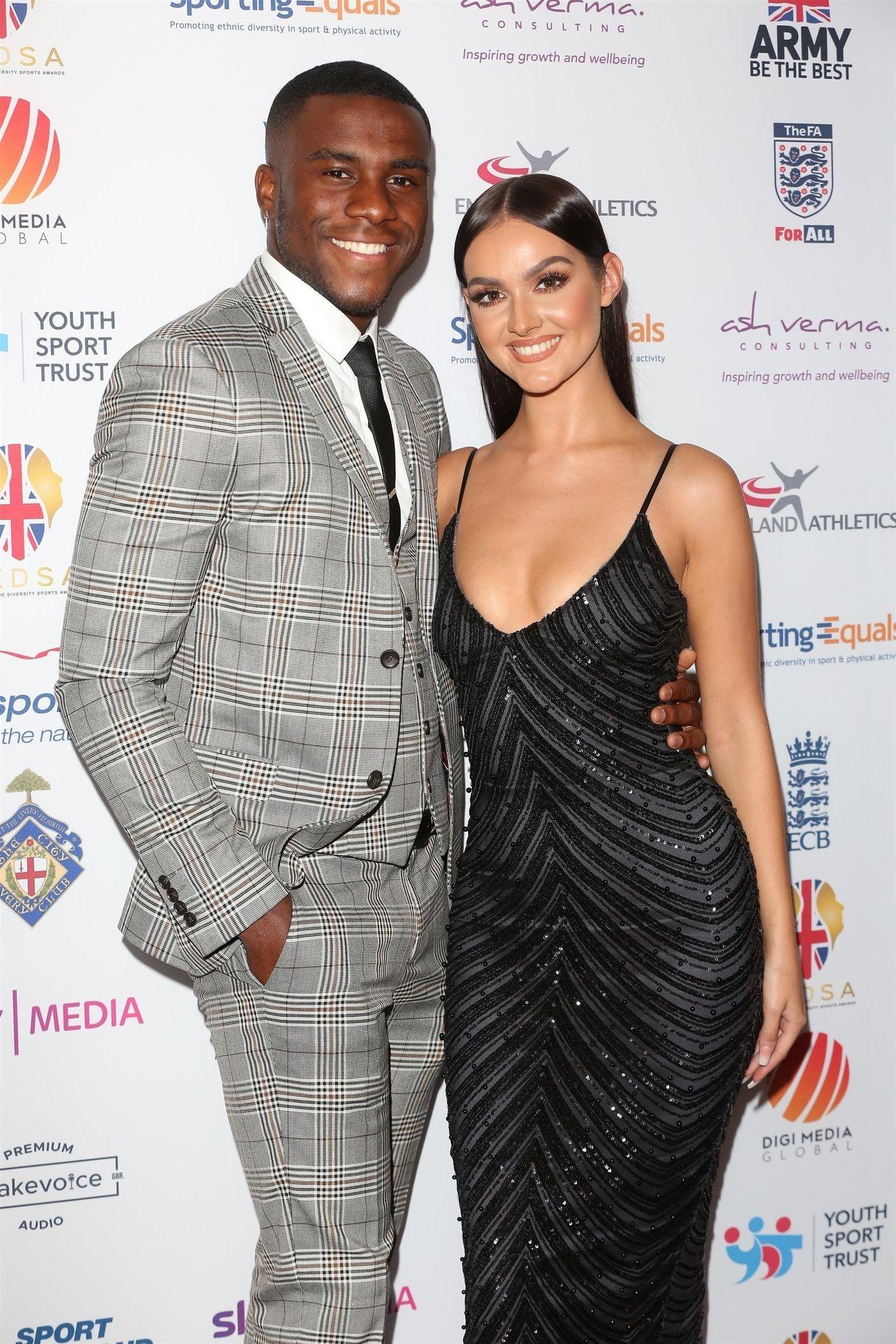 Siannise Fudge & Luke Trotman Are Seen At British Ethnic Diversity Sports Awards 0047