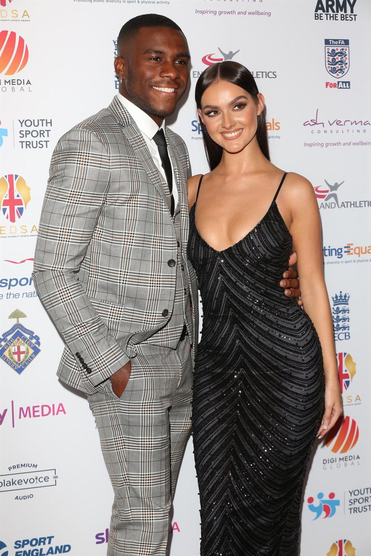 Siannise Fudge & Luke Trotman Are Seen At British Ethnic Diversity Sports Awards 0050