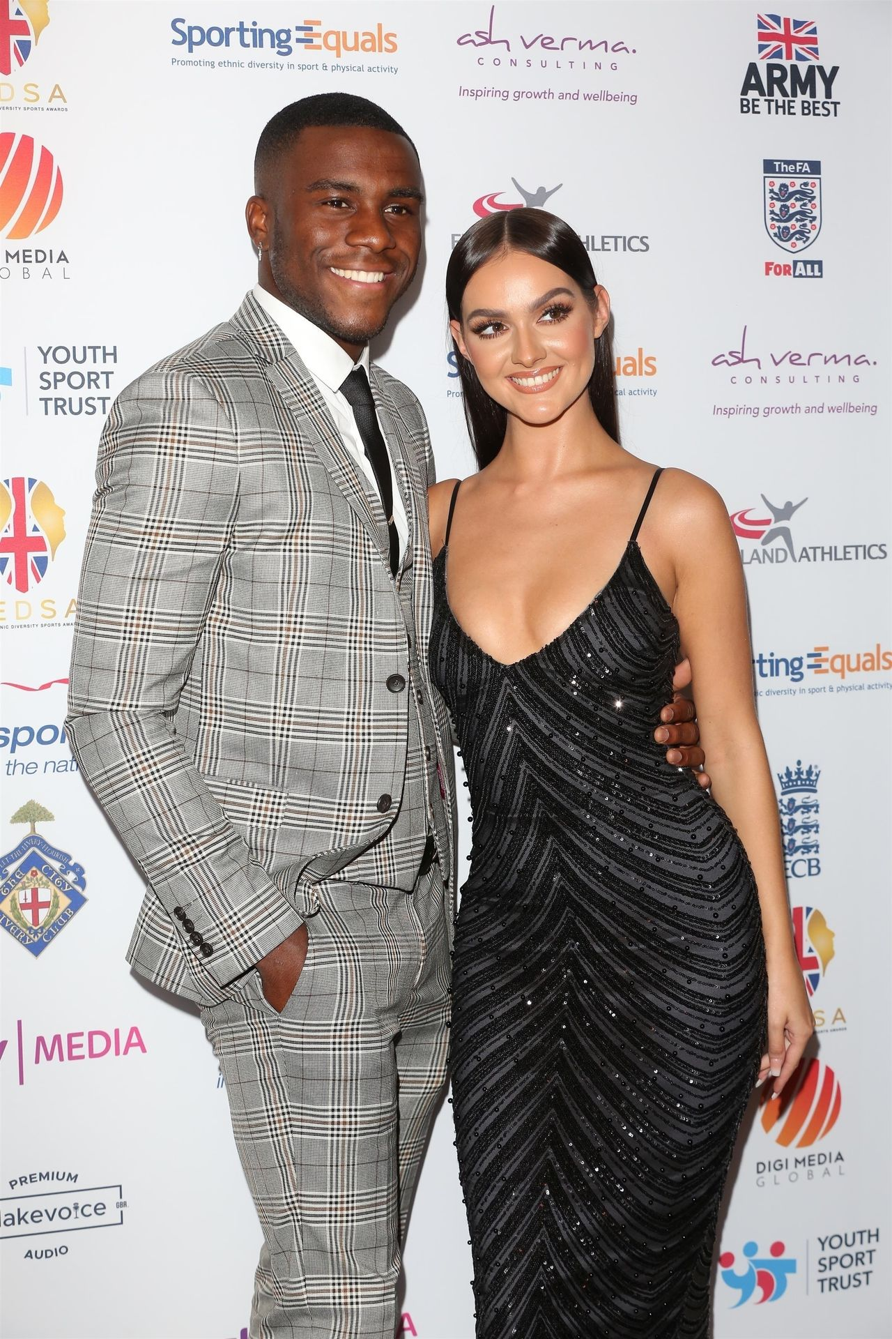 Siannise Fudge & Luke Trotman Are Seen At British Ethnic Diversity Sports Awards 0051